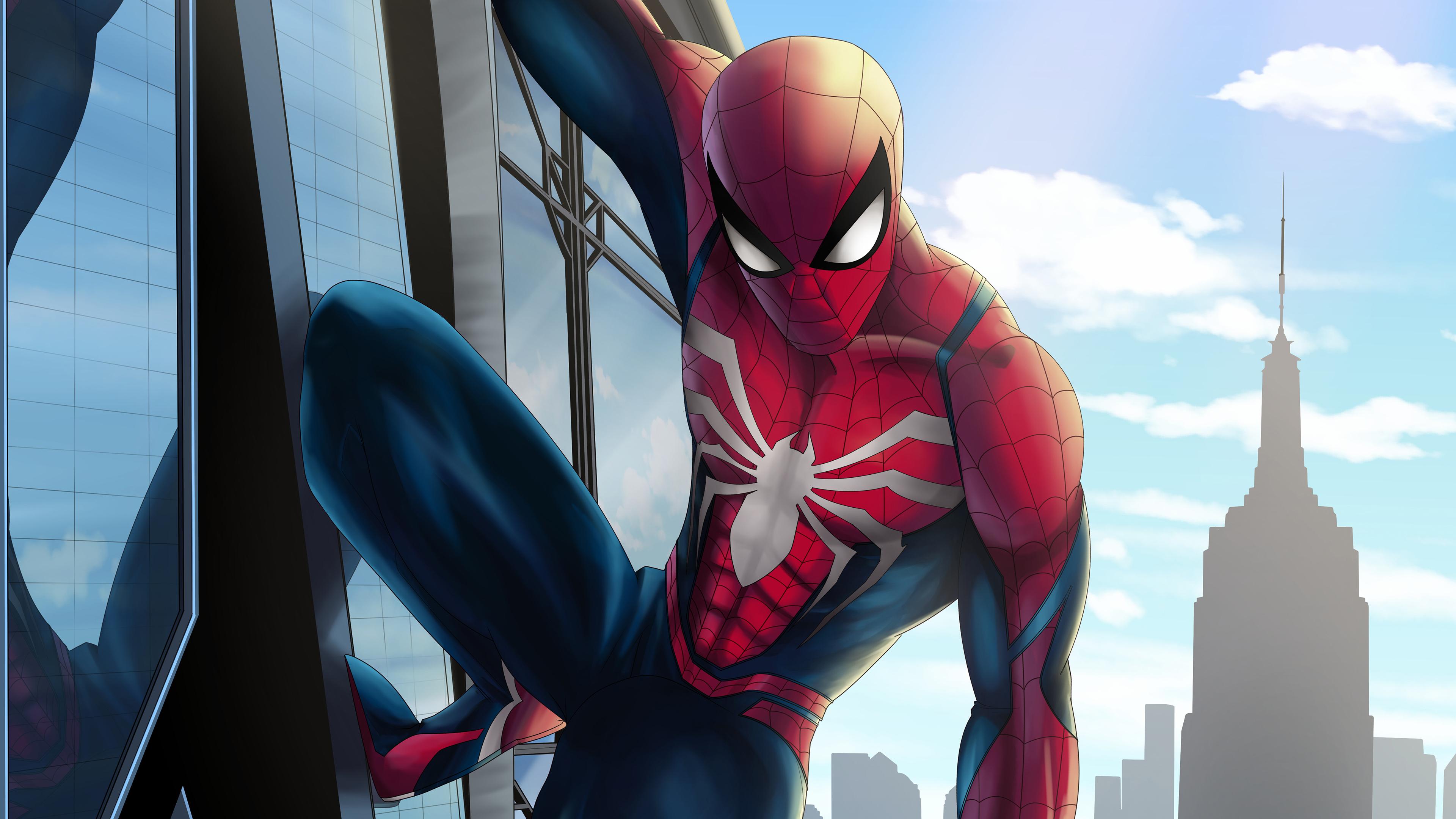 insomniac spiderman 4k 1554244909 - Insomniac Spiderman 4k - superheroes wallpapers, spiderman wallpapers, hd-wallpapers, digital art wallpapers, behance wallpapers, artwork wallpapers, artist wallpapers