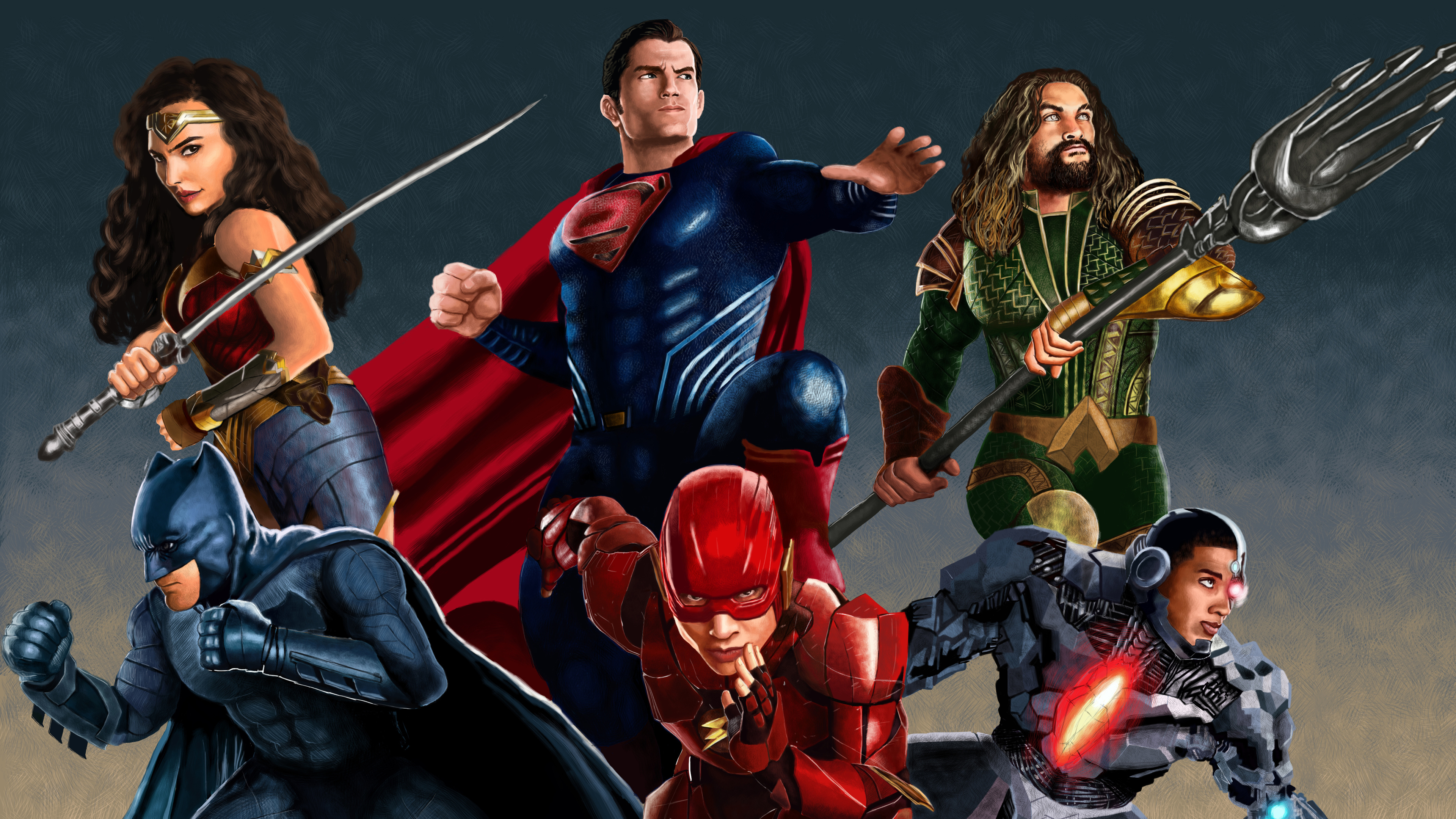 Wallpaper 4k Justice League Artworks 4k 4k Wallpapers
