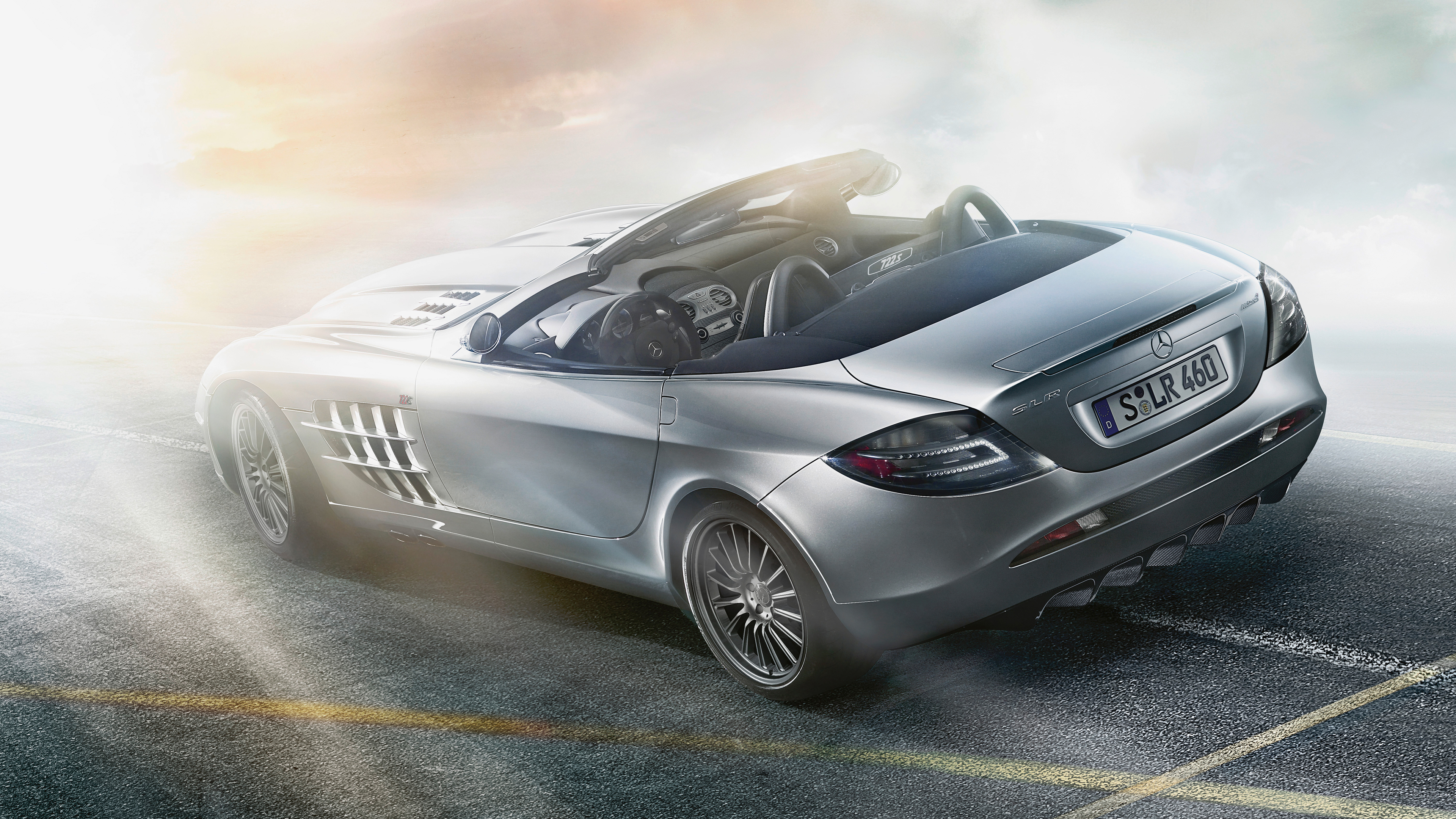mercedes benz slr mclaren roadster rear 4k 1554245276 - Mercedes Benz SLR McLaren Roadster Rear 4k - mercedes wallpapers, mercedes benz wallpapers, hd-wallpapers, cars wallpapers, 8k wallpapers, 5k wallpapers, 4k-wallpapers