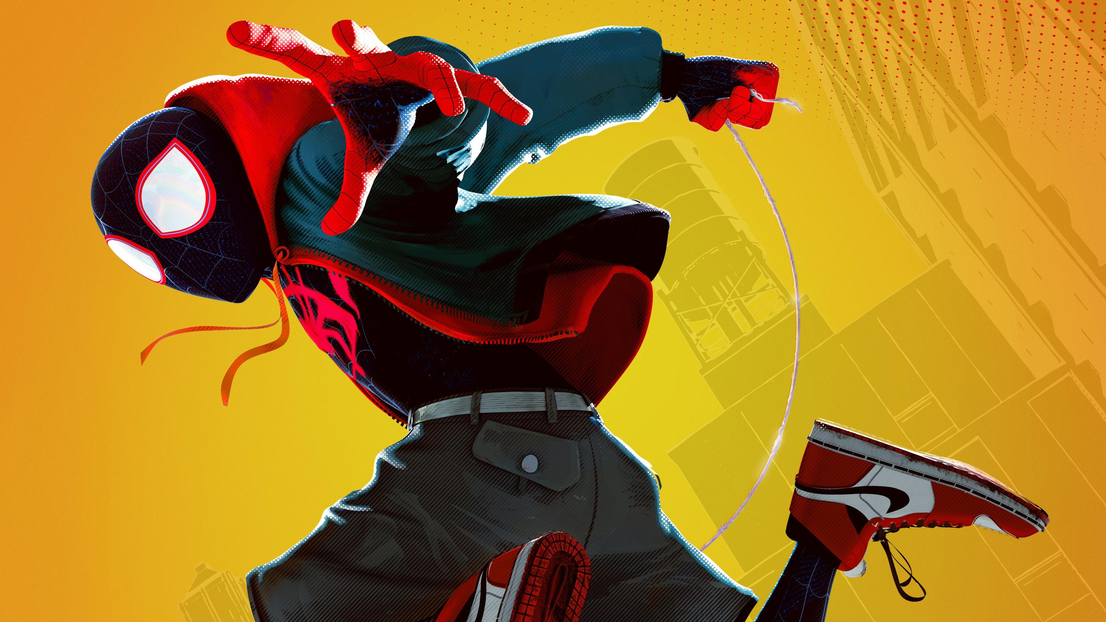 miles morales 4k 1555206626 - Miles Morales 4k - superheroes wallpapers, spiderman wallpapers, spiderman into the spider verse wallpapers, movies wallpapers, hd-wallpapers, 4k-wallpapers