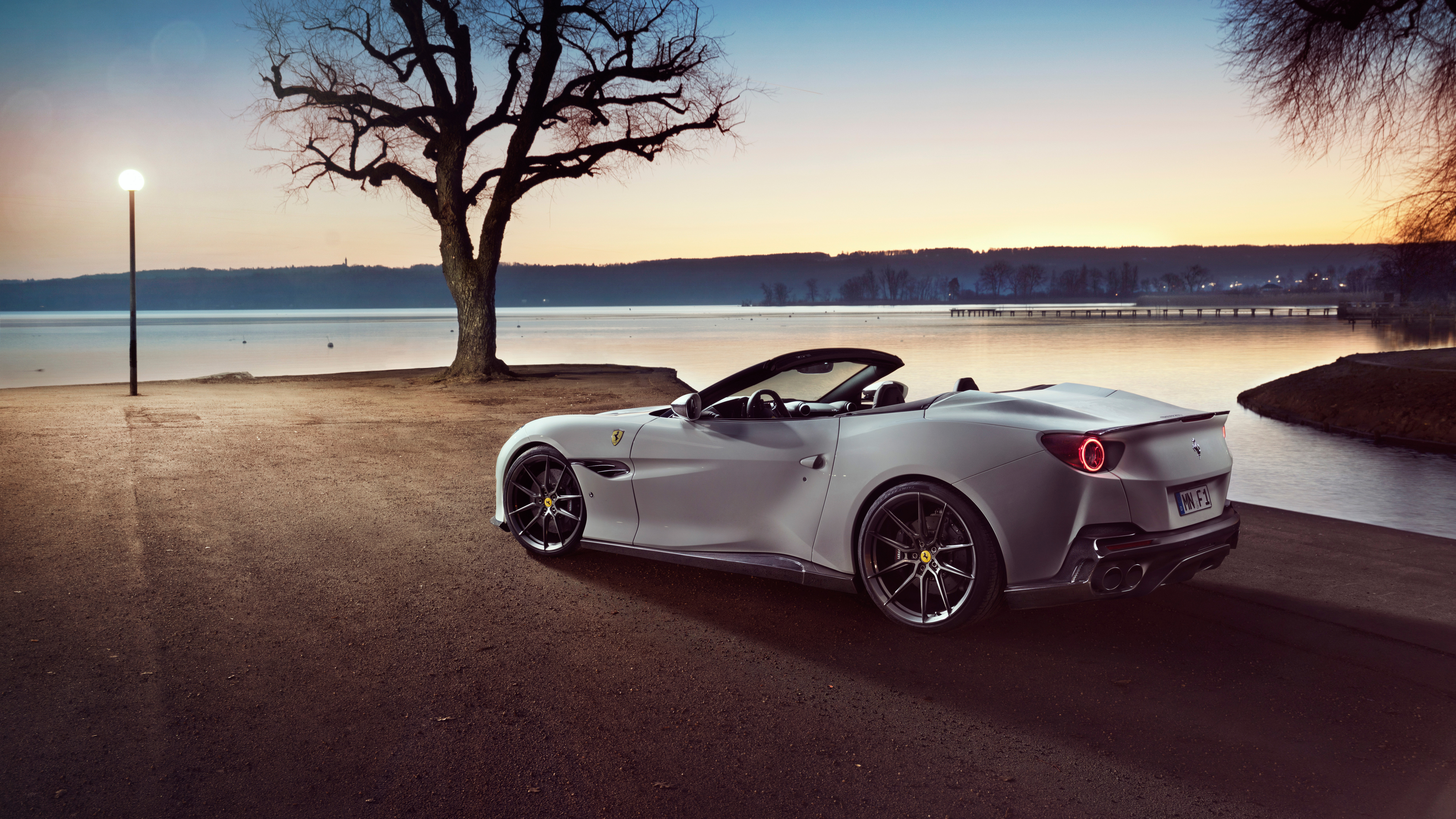 Wallpaper 4k Novitec Ferrari Portofino 2019 Rear 4k 2019 Cars