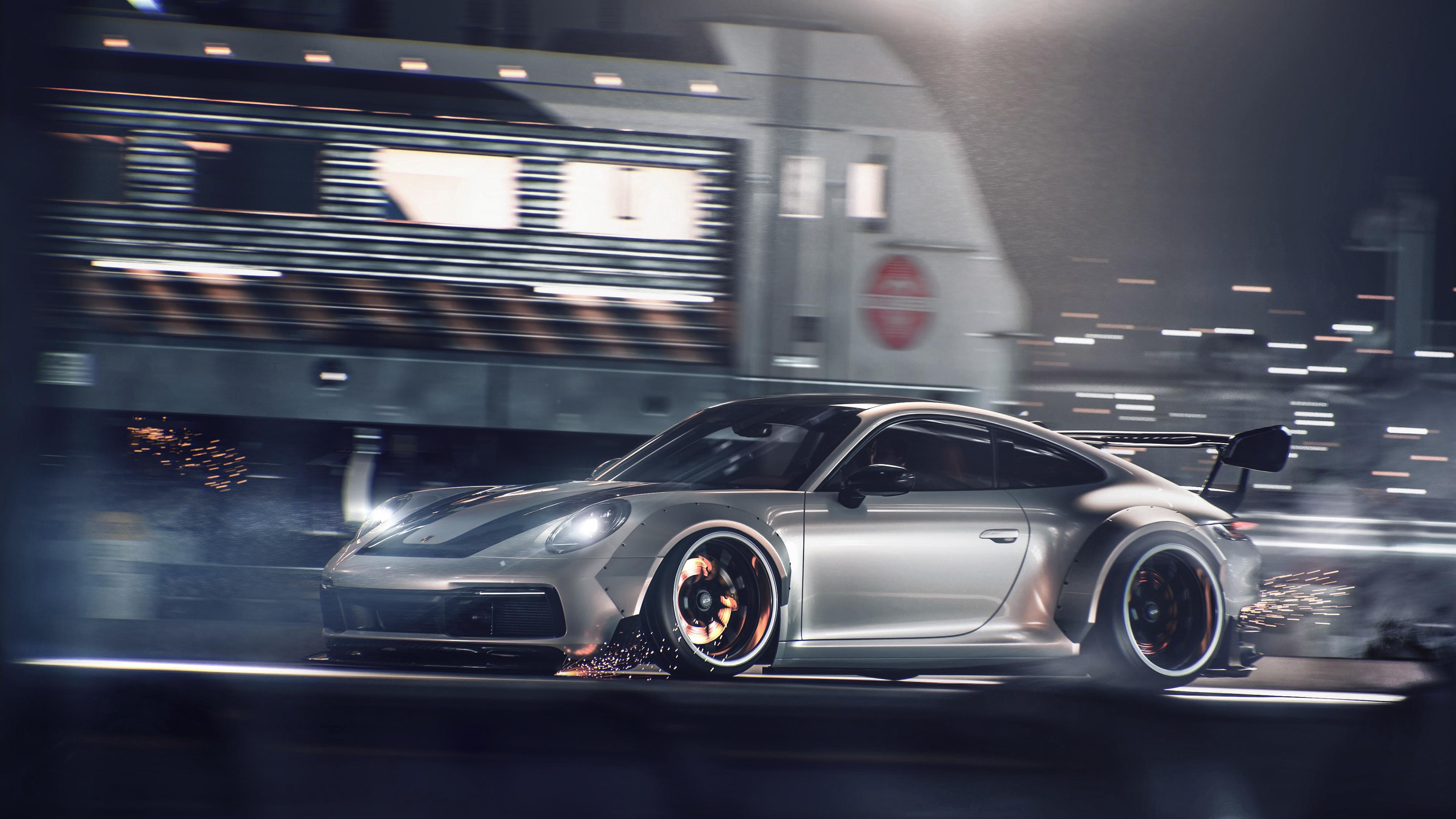 porsche gt3 911 gt 4k 1554245237 - Porsche GT3 911 GT 4k - porsche wallpapers, porsche 911 wallpapers, hd-wallpapers, cars wallpapers, behance wallpapers, 4k-wallpapers