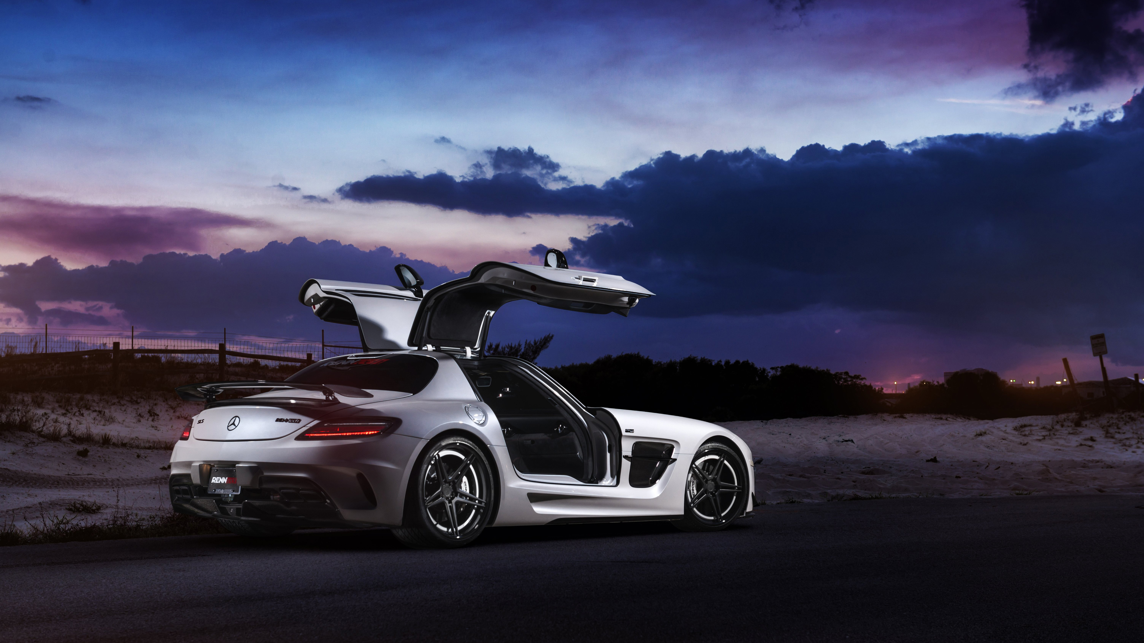 renntech mercedes benz sls black series 4k 1556185250 - Renntech Mercedes Benz Sls Black Series 4k - sls wallpapers, mercedes wallpapers, mercedes benz wallpapers, hd-wallpapers, cars wallpapers, amg wallpapers, 4k-wallpapers