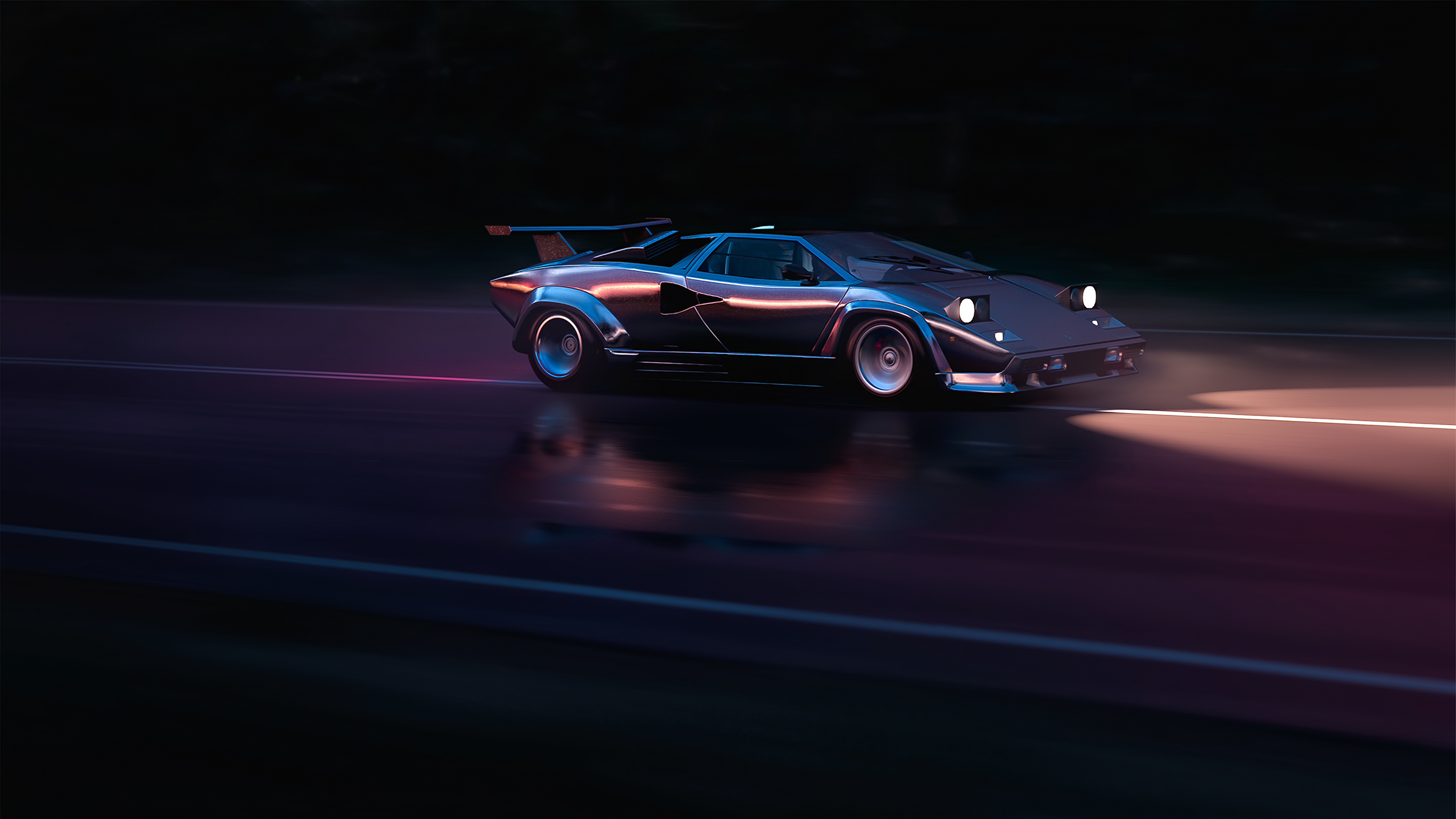 running in 80s lamborghini countach 4k 1554245204 - Running In 80s Lamborghini Countach 4k - lamborghini wallpapers, hd-wallpapers, cars wallpapers, 4k-wallpapers