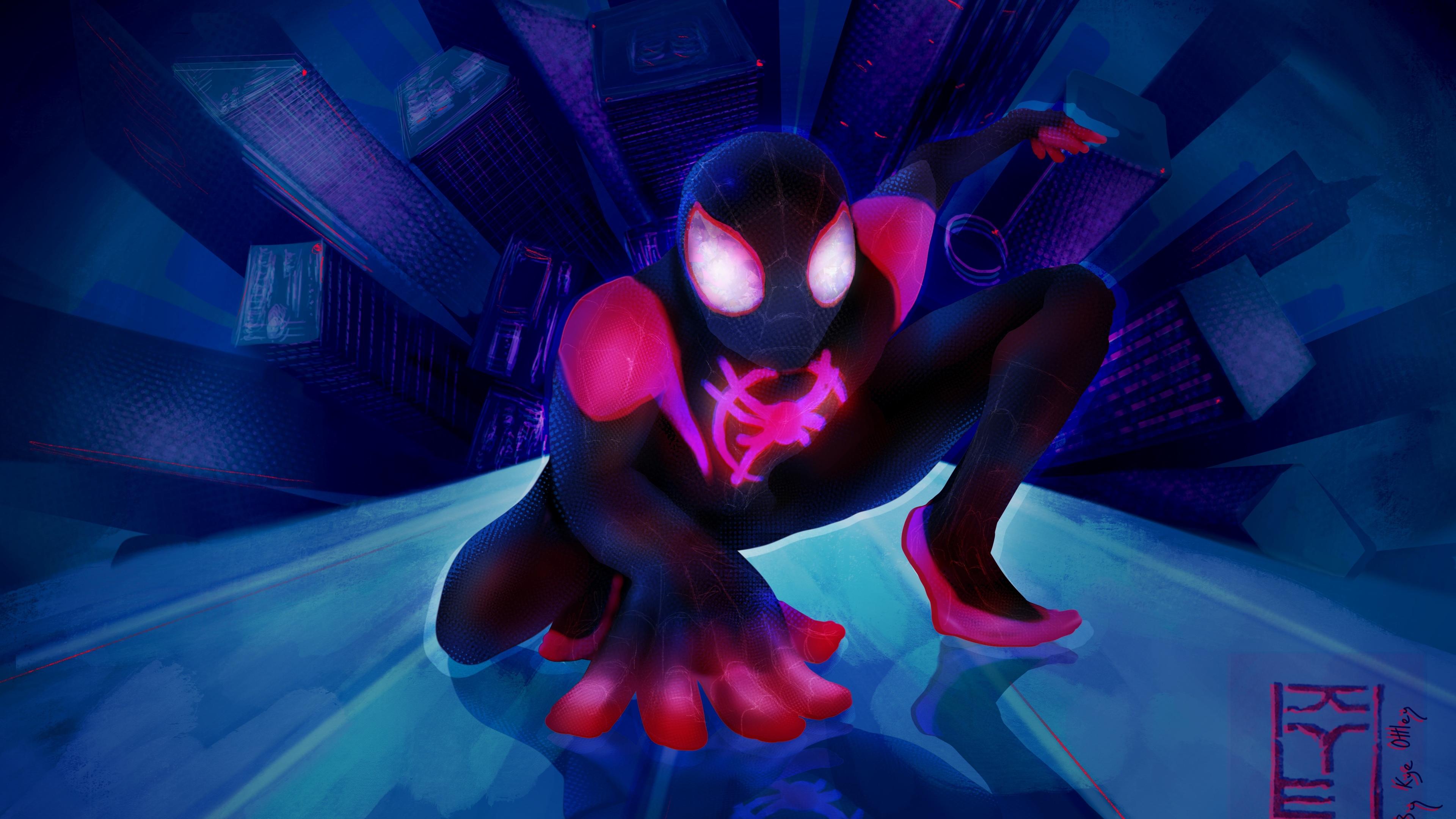 spider man miles 4k 1556184765 - Spider Man Miles 4k - superheroes wallpapers, spiderman wallpapers, hd-wallpapers, digital art wallpapers, artwork wallpapers, 5k wallpapers, 4k-wallpapers