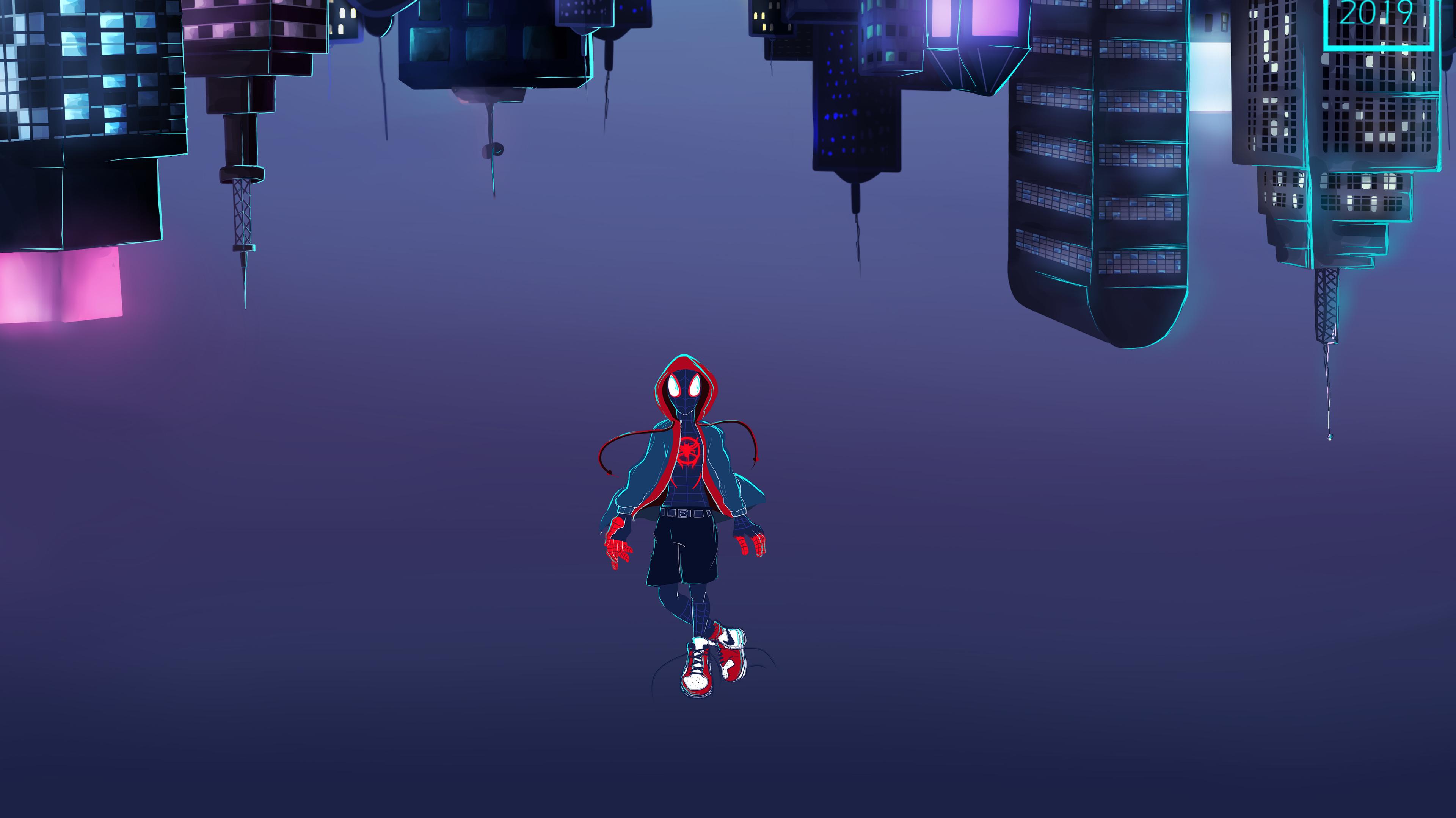 Wallpaper 4k Spiderman Leap Of Faith 4k 4k Wallpapers Artist