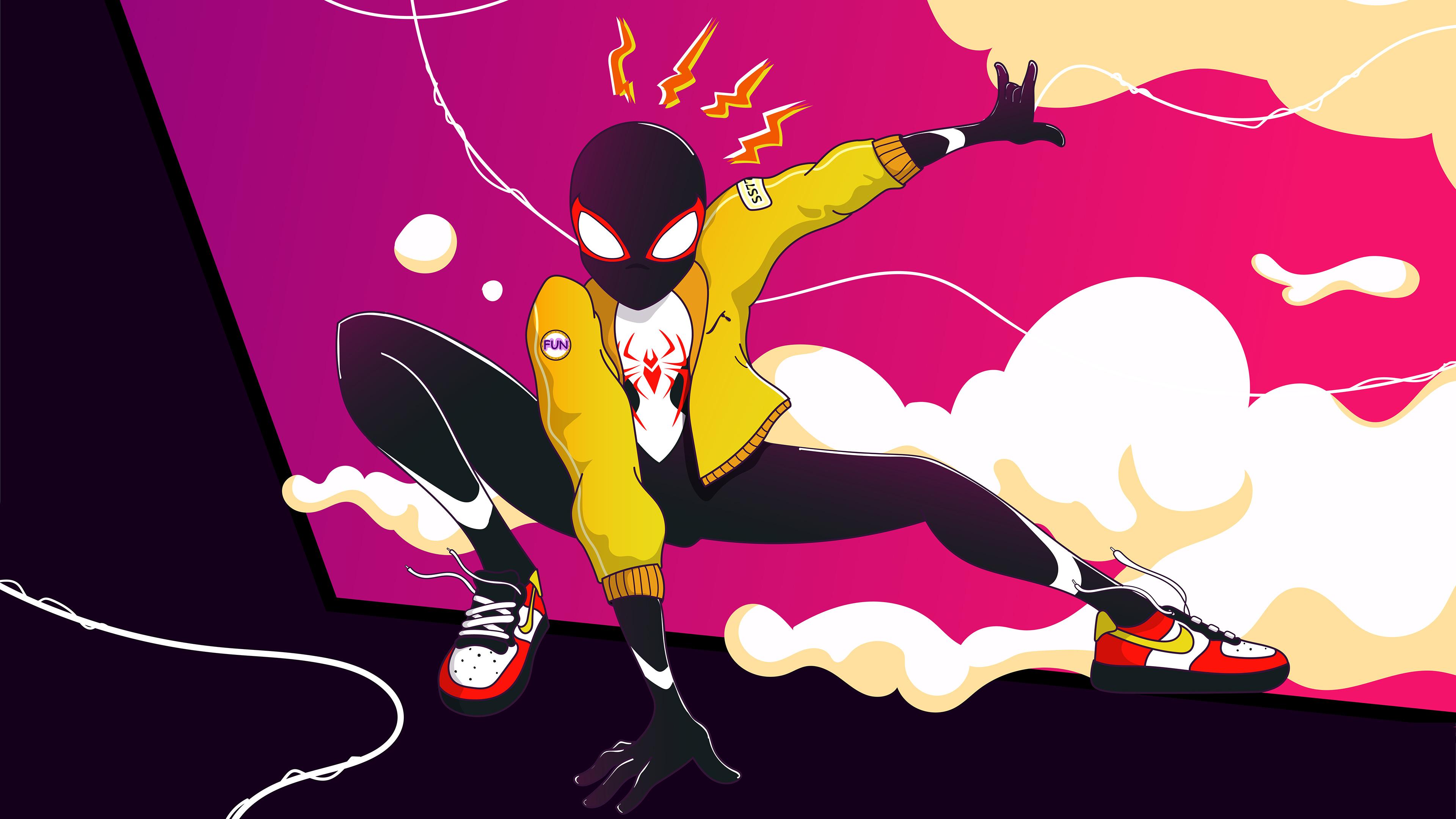 spidersona 4k 1556184886 - Spidersona 4k - superheroes wallpapers, spiderman wallpapers, spiderman into the spider verse wallpapers, hd-wallpapers, digital art wallpapers, behance wallpapers, artwork wallpapers, artist wallpapers, 4k-wallpapers