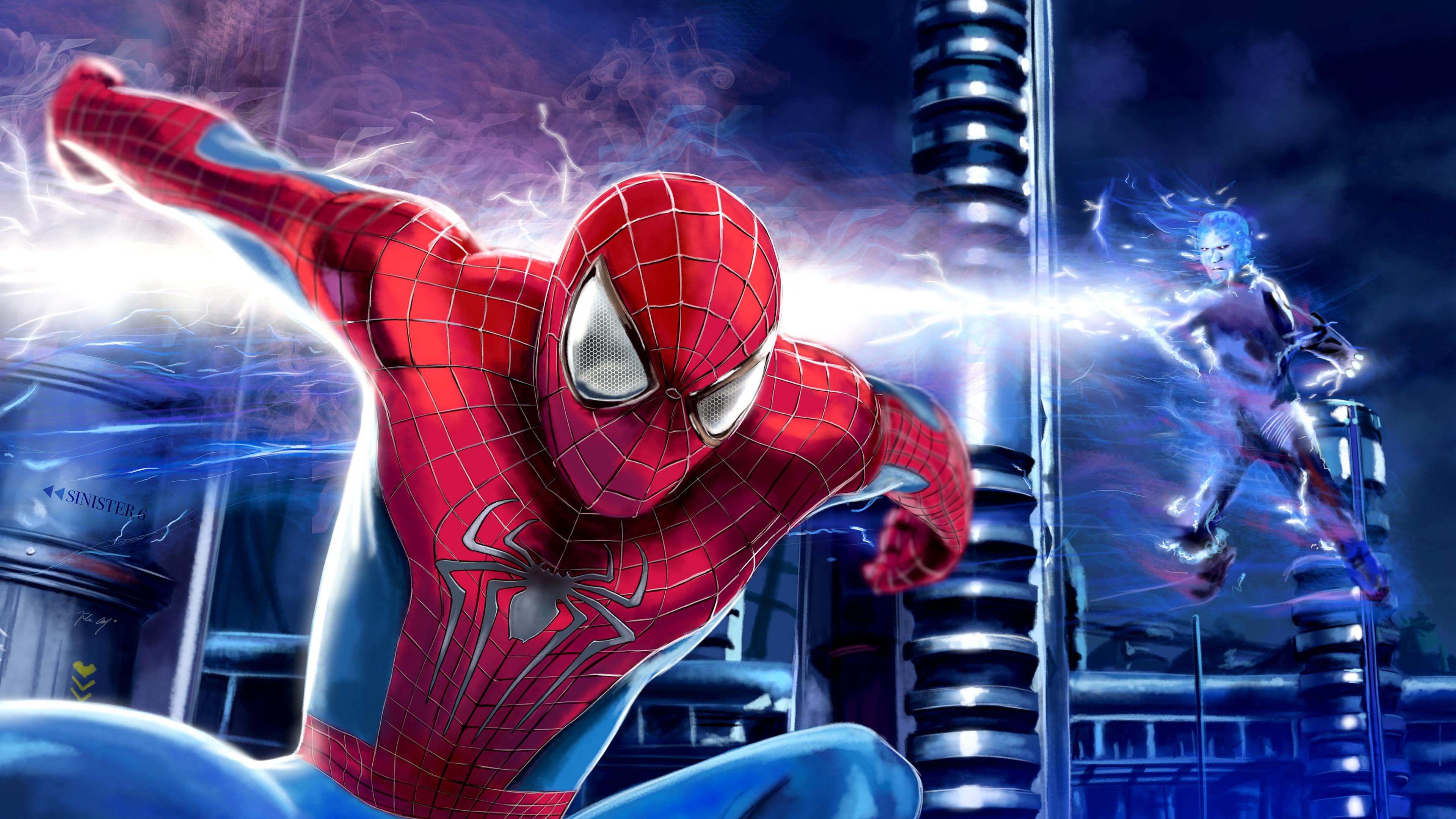 the amazing spiderman paint art 4k 1556184892 - The Amazing Spiderman Paint Art 4k - superheroes wallpapers, spiderman wallpapers, hd-wallpapers, digital art wallpapers, artwork wallpapers, 4k-wallpapers