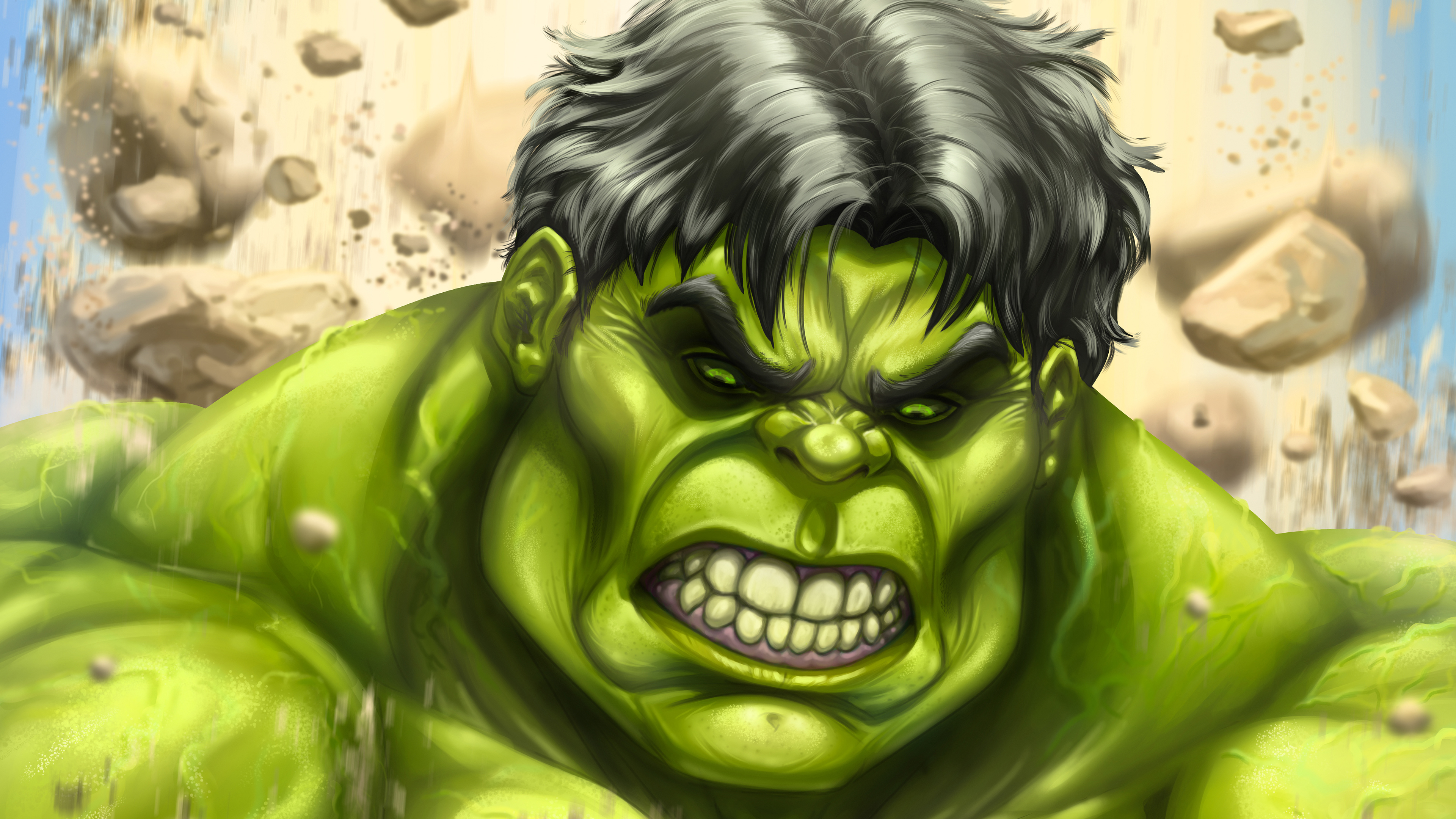 the incredibles hulk art 4k 1554244974 - The Incredibles Hulk Art 4k - superheroes wallpapers, hulk wallpapers, hd-wallpapers, digital art wallpapers, behance wallpapers, artwork wallpapers, 4k-wallpapers