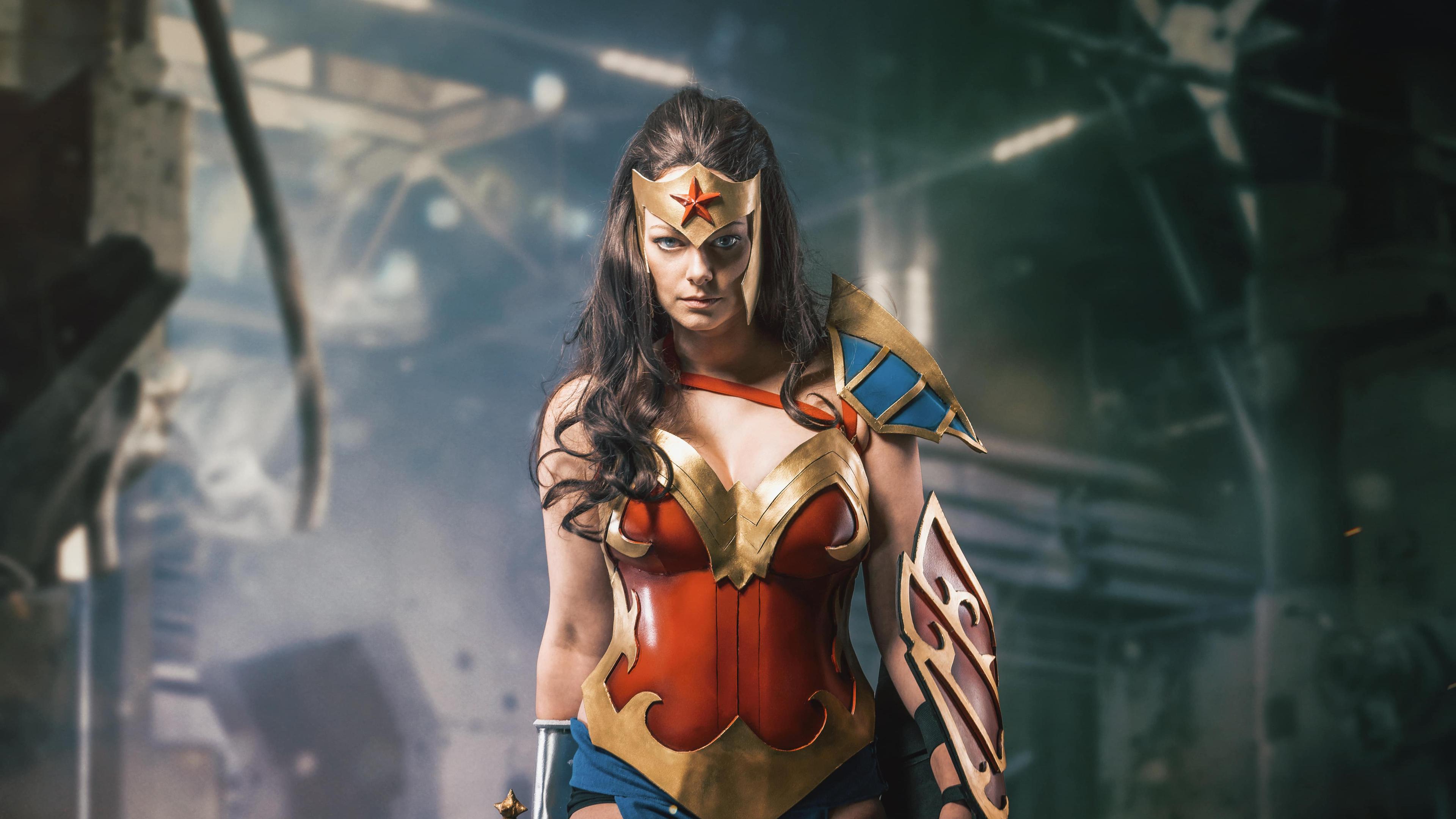 wonder woman cosplay 4k 1554245039 - Wonder Woman Cosplay 4k - wonder woman wallpapers, superheroes wallpapers, hd-wallpapers, cosplay wallpapers, 5k wallpapers, 4k-wallpapers