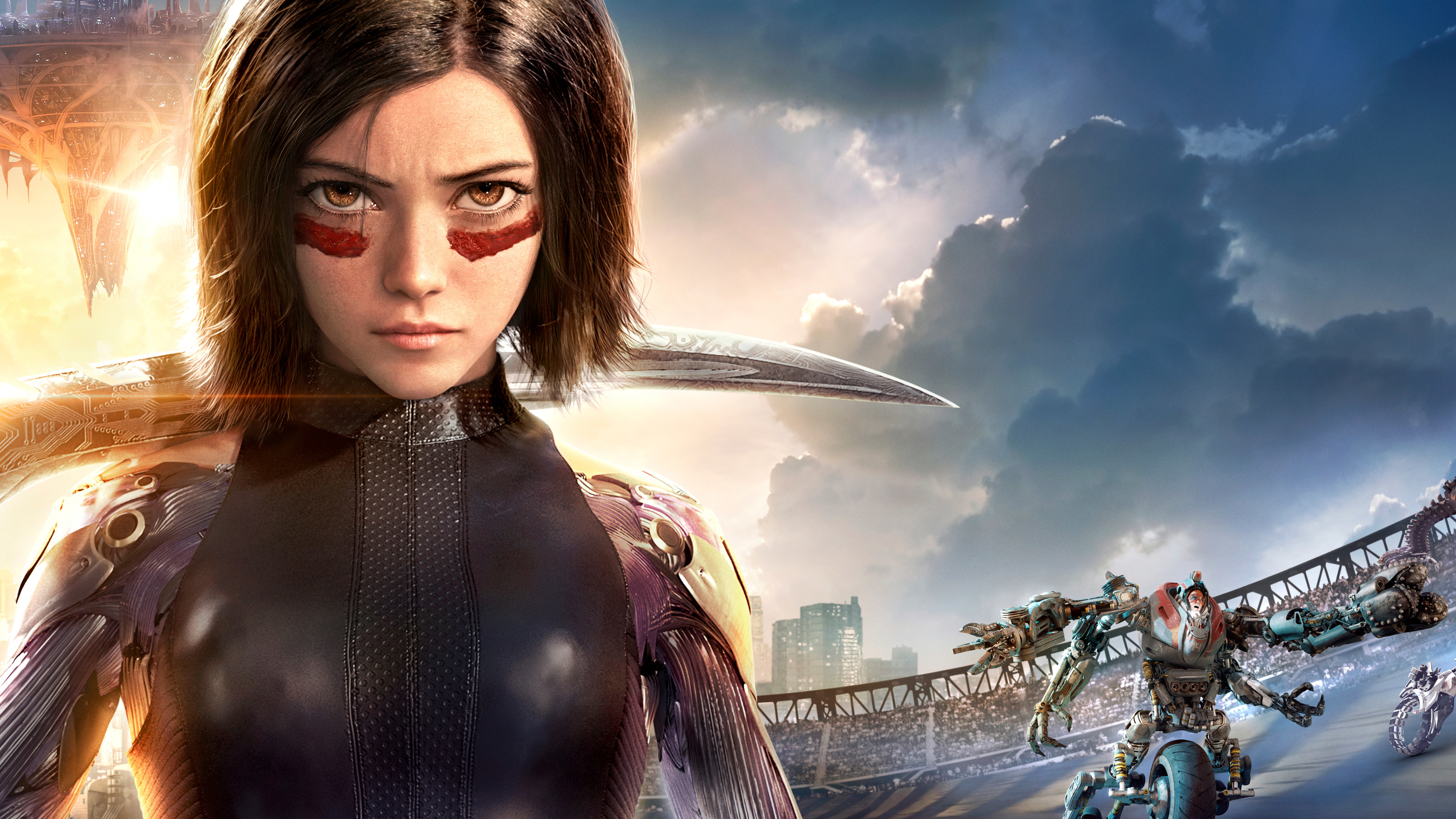 Wallpaper 4k Alita Battle Angel 4k 2019 Movies Wallpapers 4k