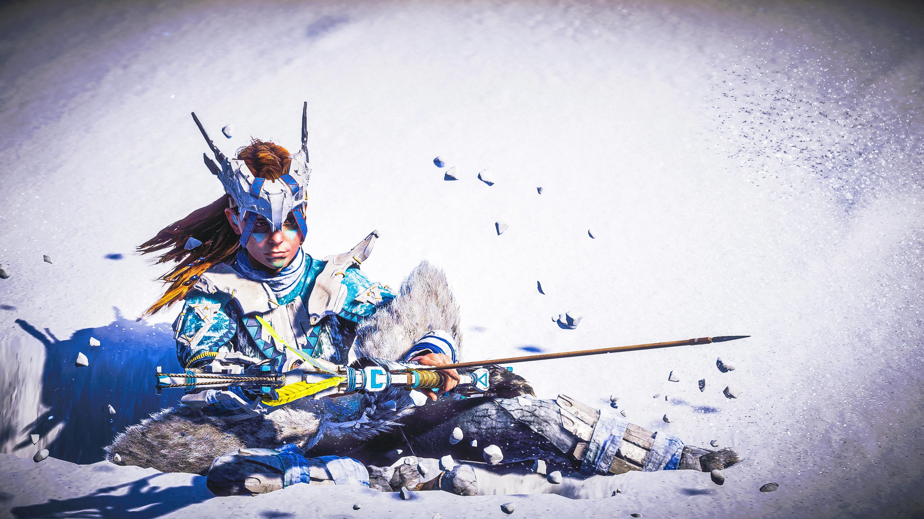 aloy snow archer horizon zero dawn 4k 1558221465 - Aloy Snow Archer Horizon Zero Dawn 4k - xbox games wallpapers, ps games wallpapers, pc games wallpapers, horizon zero dawn wallpapers, hd-wallpapers, games wallpapers, aloy wallpapers, 4k-wallpapers