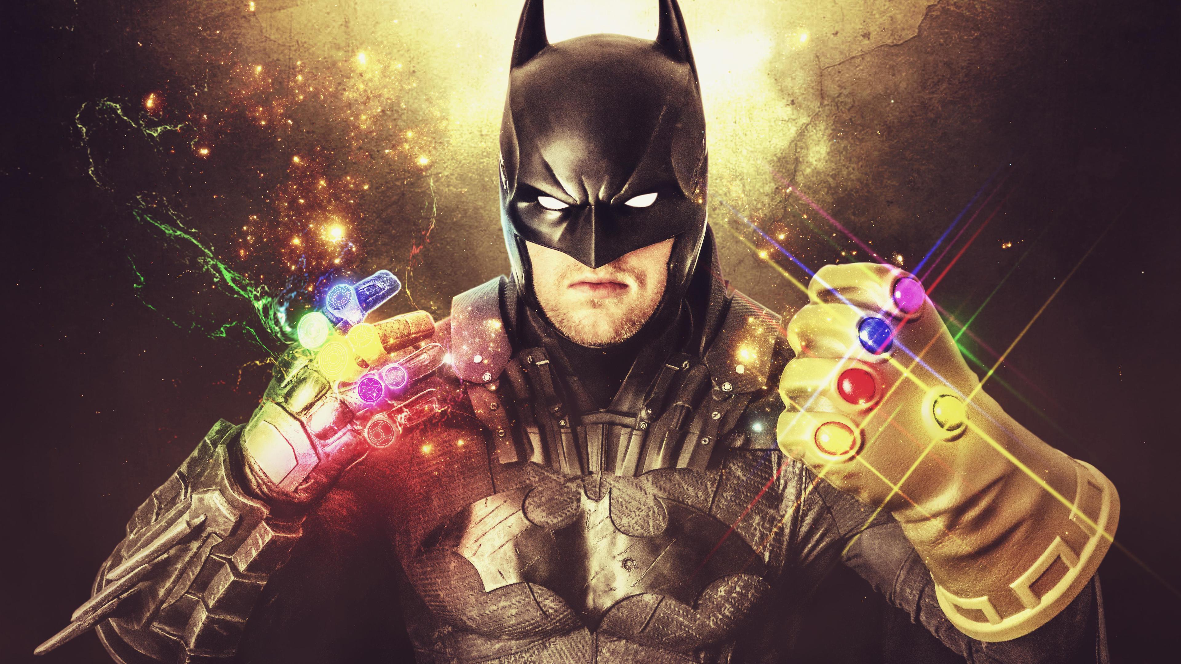 batman with thanos gauntlet 4k 1557260142 - Batman With Thanos Gauntlet 4k - superheroes wallpapers, hd-wallpapers, digital art wallpapers, batman wallpapers, 4k-wallpapers