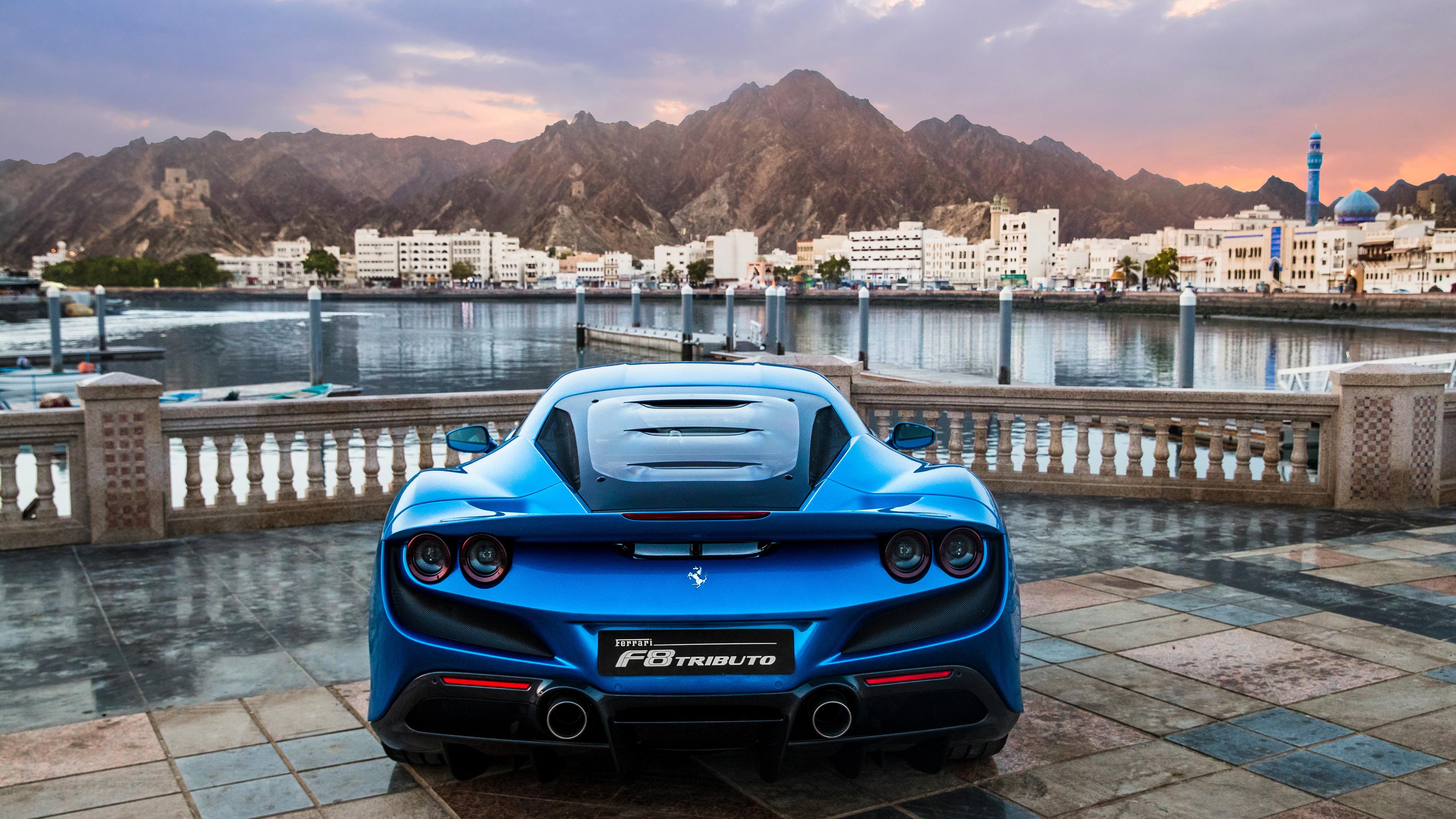 blue ferrari f8 tributo 2018 1557260849 - Blue Ferrari F8 Tributo 2018 - hd-wallpapers, ferrari wallpapers, ferrari f8 tributo wallpapers, cars wallpapers, 4k-wallpapers, 2019 cars wallpapers