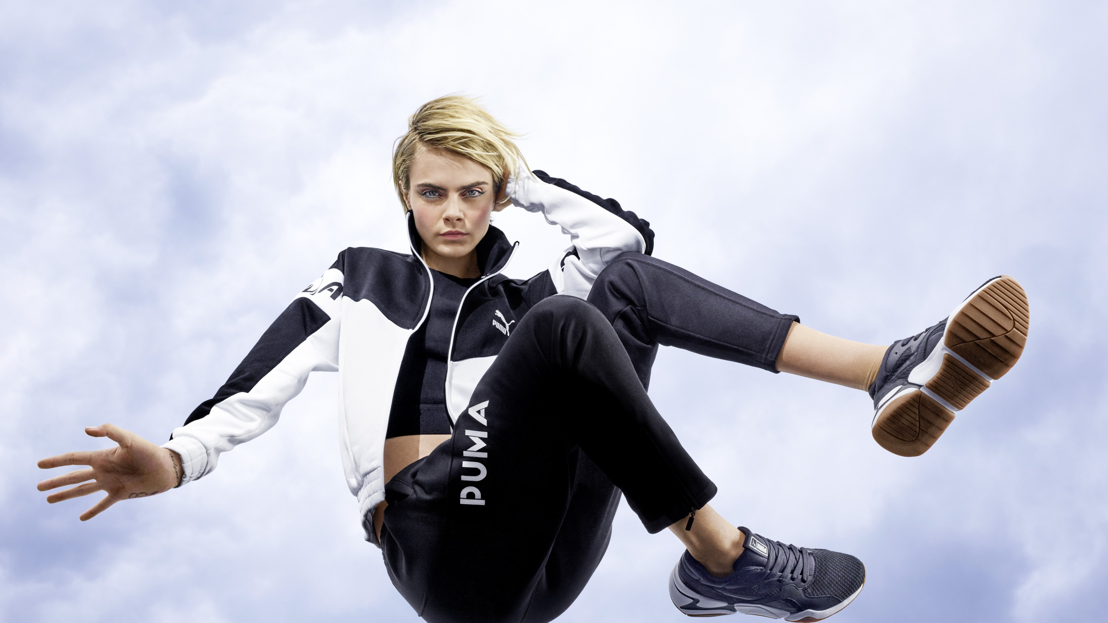 cara delevingne puma 2019 4k 1558220694 - Cara Delevingne Puma 2019 4k - model wallpapers, hd-wallpapers, girls wallpapers, celebrities wallpapers, cara delevingne wallpapers, 4k-wallpapers