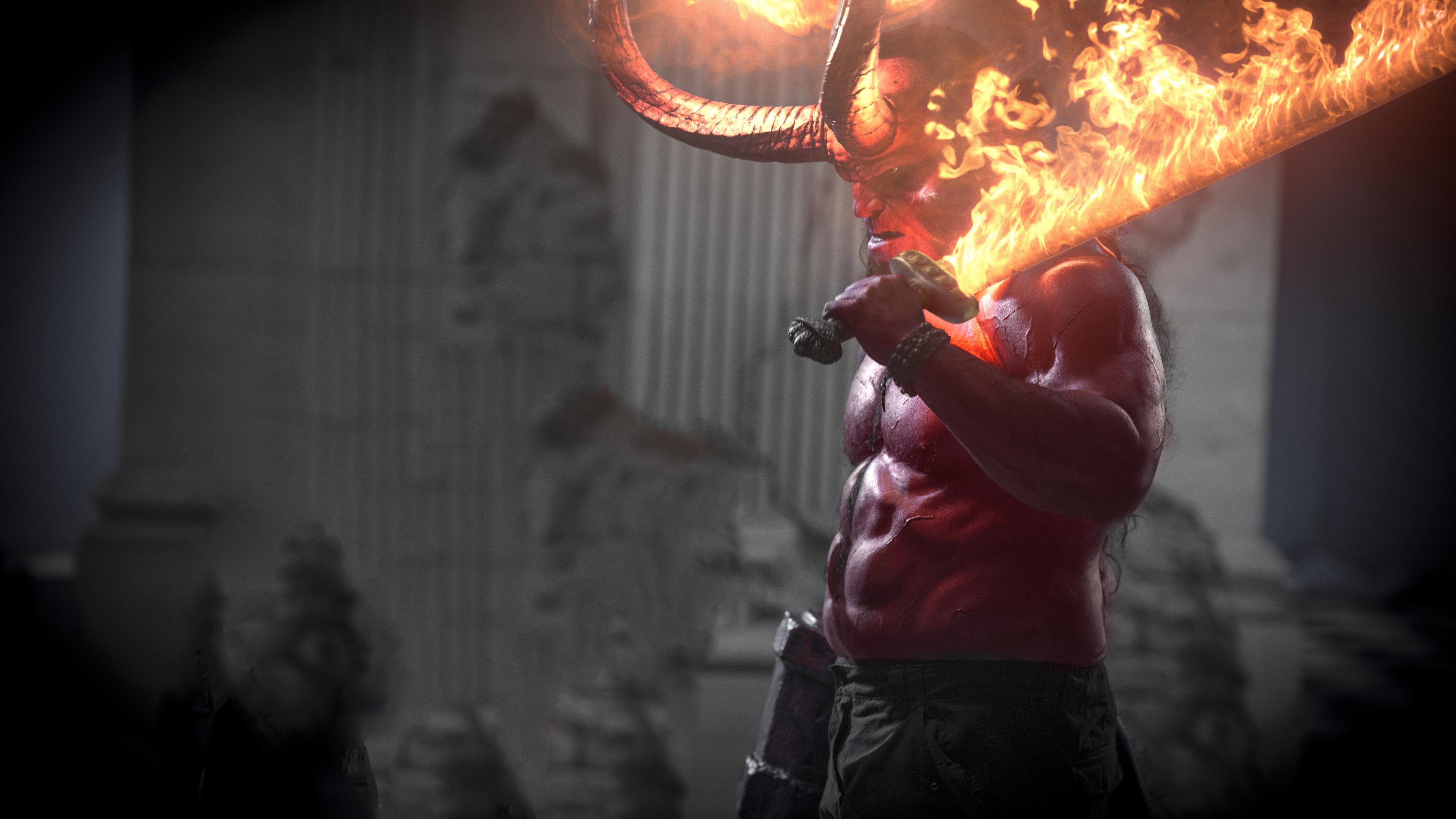hellboy movie 2019 4k 1558220119 - Hellboy Movie 2019 4k - movies wallpapers, hellboy wallpapers, hd-wallpapers, 4k-wallpapers, 2019 movies wallpapers