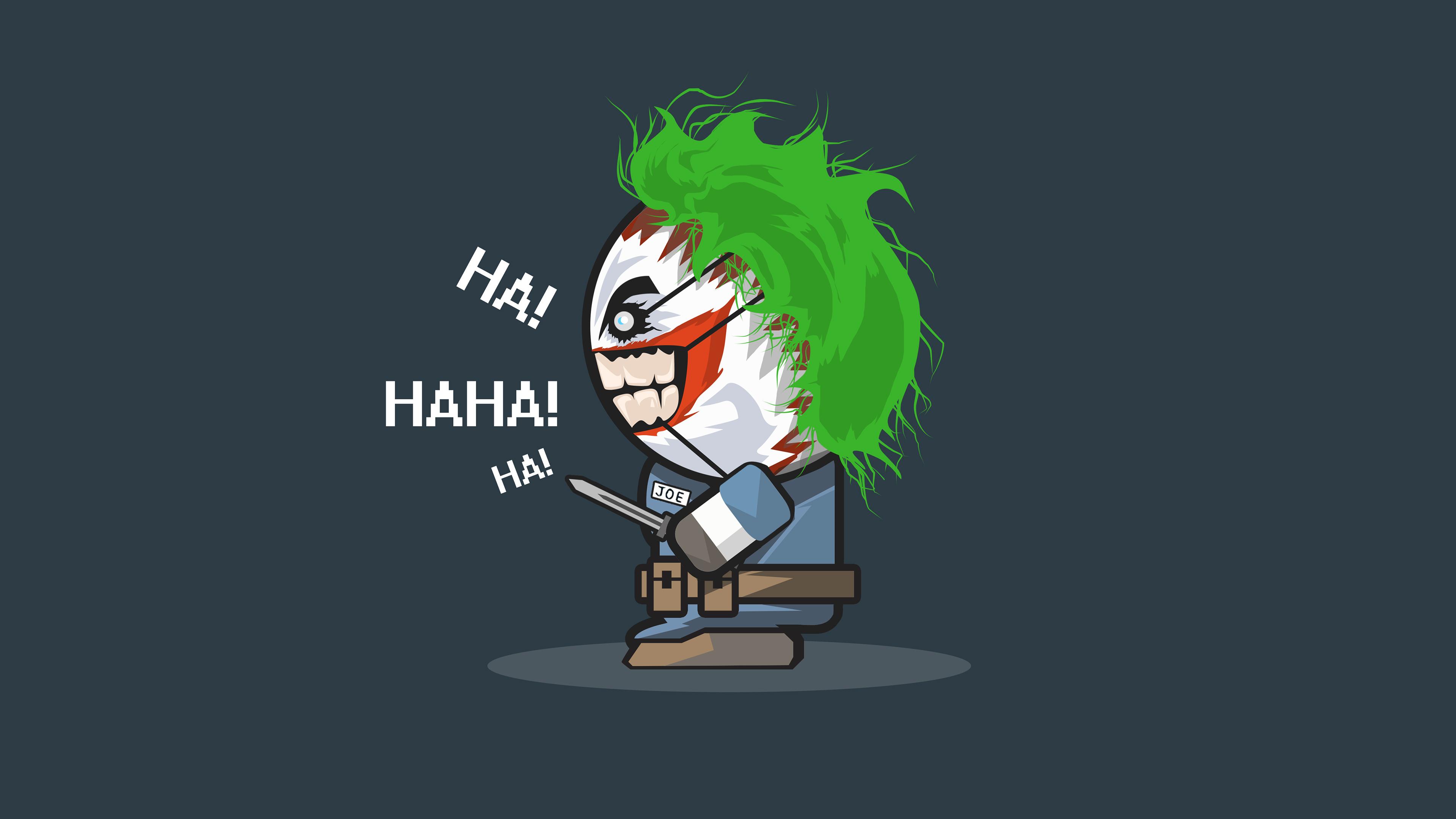 joker haha art 4k 1557260445 - Joker Haha Art 4k - superheroes wallpapers, joker wallpapers, hd-wallpapers, digital art wallpapers, artwork wallpapers, artist wallpapers, 4k-wallpapers