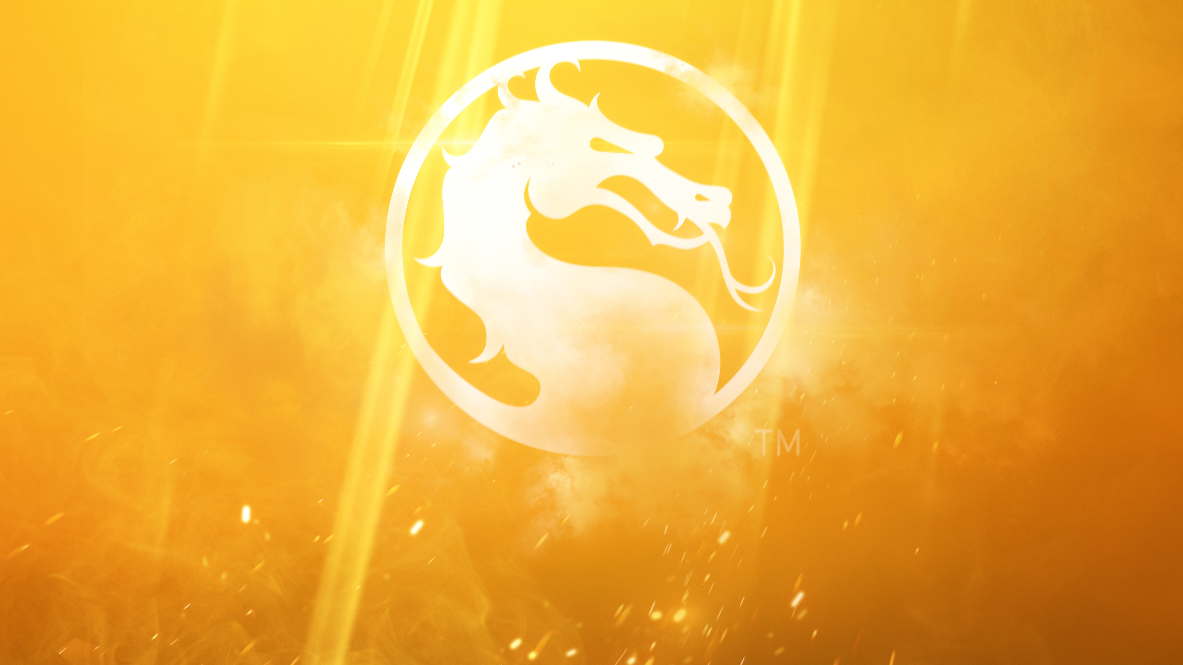 Wallpaper 4k Mortal Kombat 11 Logo 2019 Games Wallpapers 4k