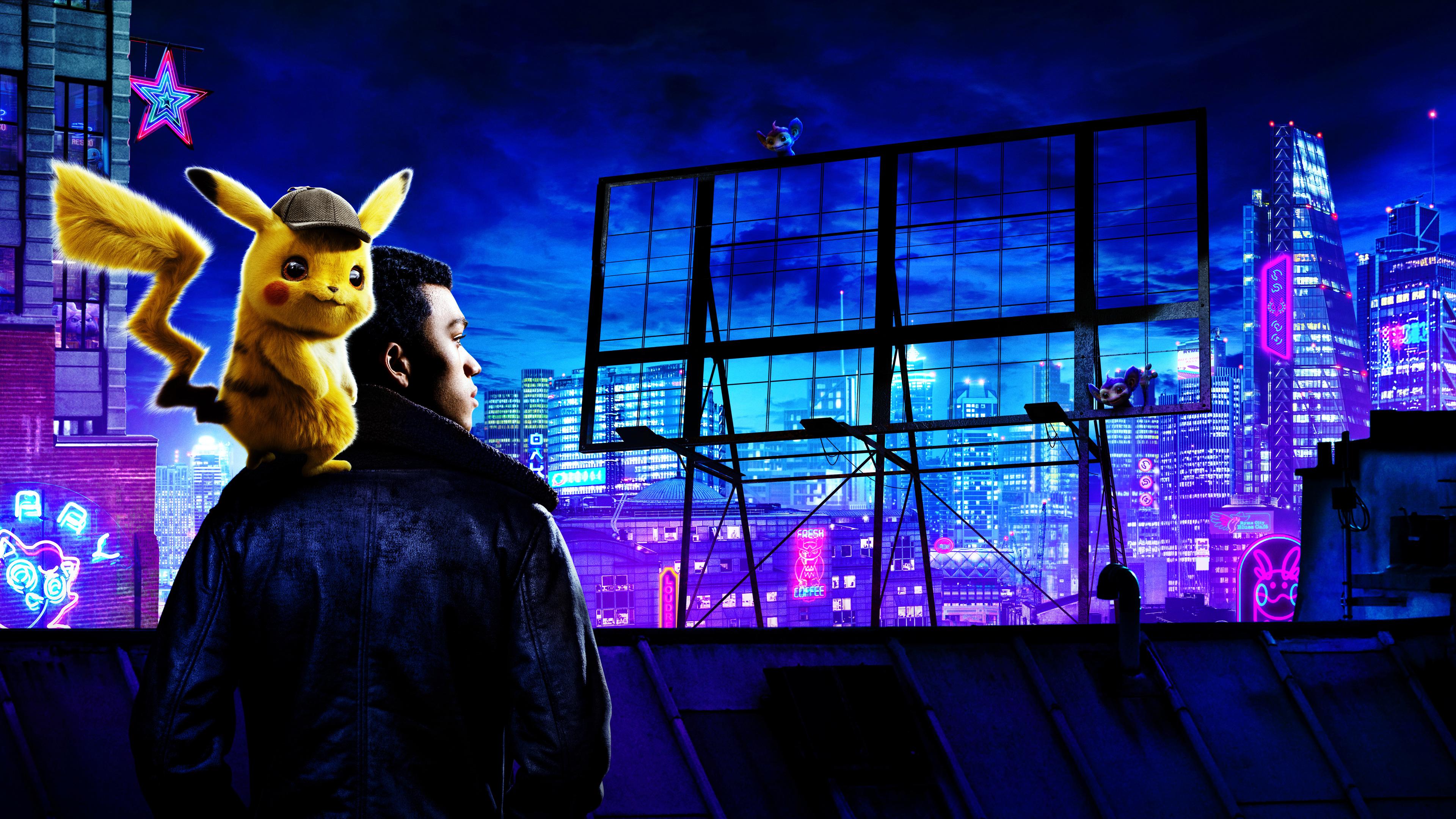 Pokemon Detective Pikachu Movie 4k pokemon detective pikachu wallpapers, movies wallpapers, hd ...