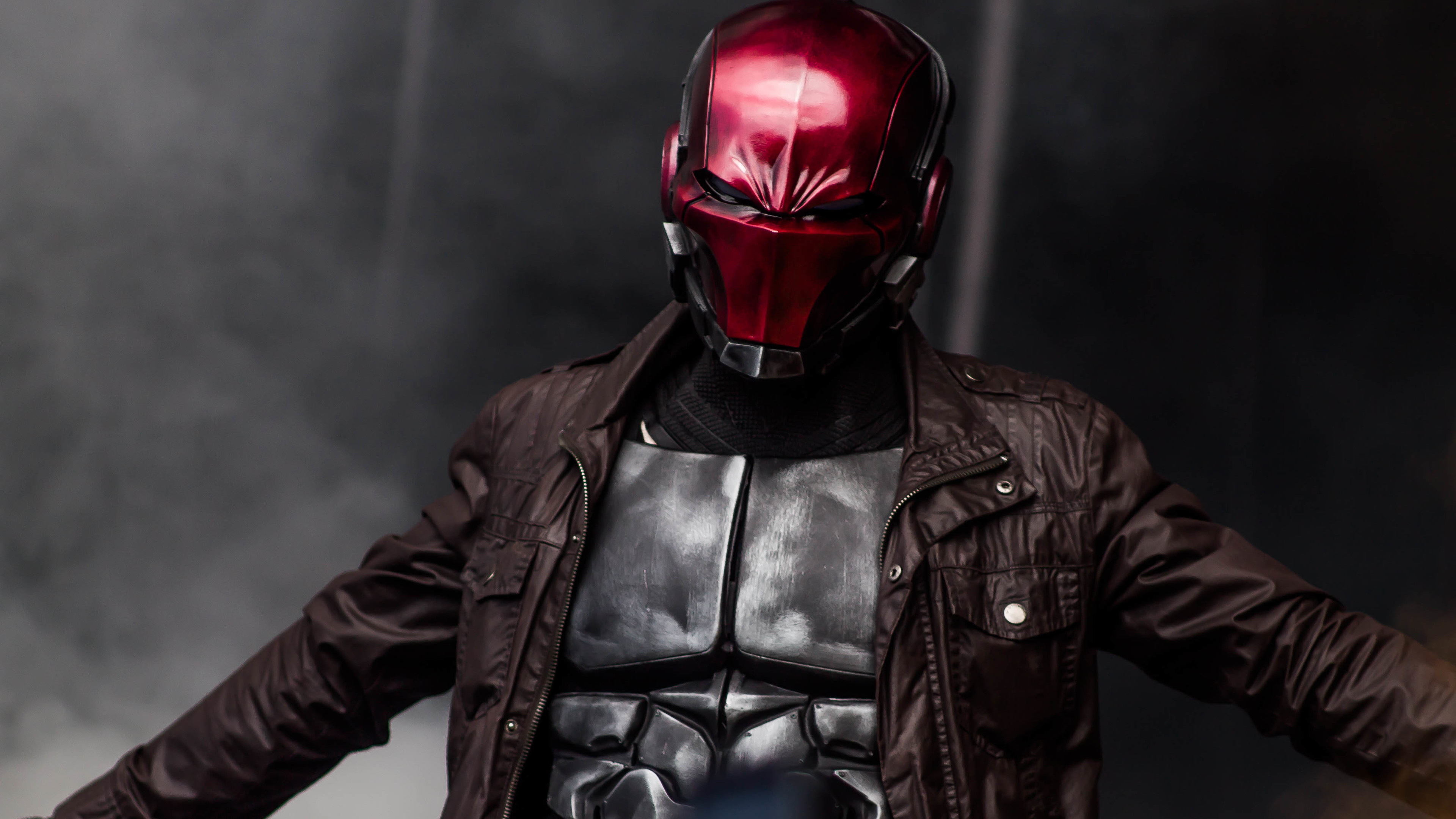 red hood cosplay 4k 1557260278 - Red Hood Cosplay 4k - superheroes wallpapers, red hood wallpapers, hd-wallpapers, deviantart wallpapers, cosplay wallpapers, 4k-wallpapers