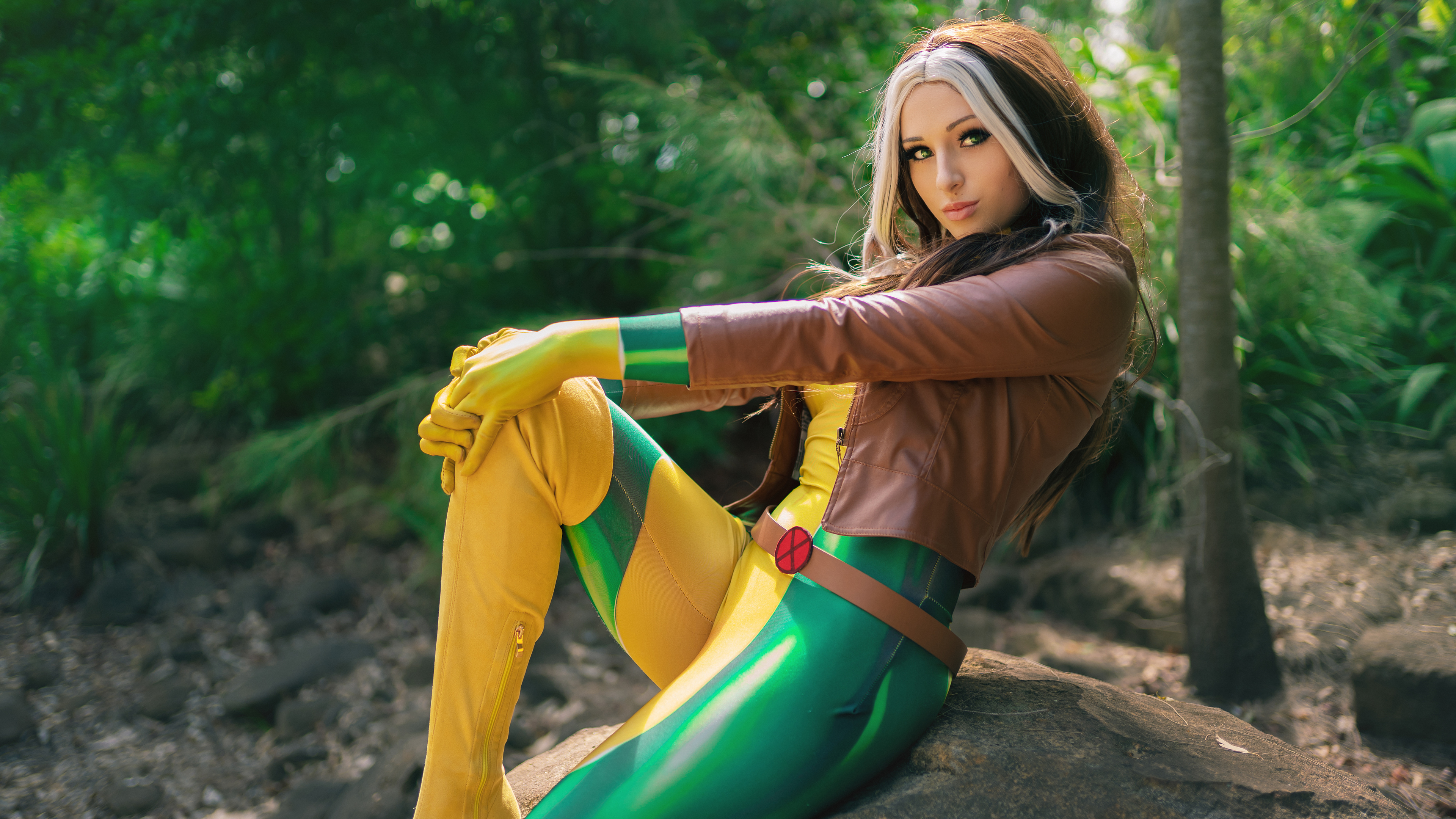 rogue x men cosplay 4k 1557260025 - Rogue X Men Cosplay 4k - x men wallpapers, superheroes wallpapers, rogue wallpapers, hd-wallpapers, deviantart wallpapers, cosplay wallpapers, 5k wallpapers, 4k-wallpapers