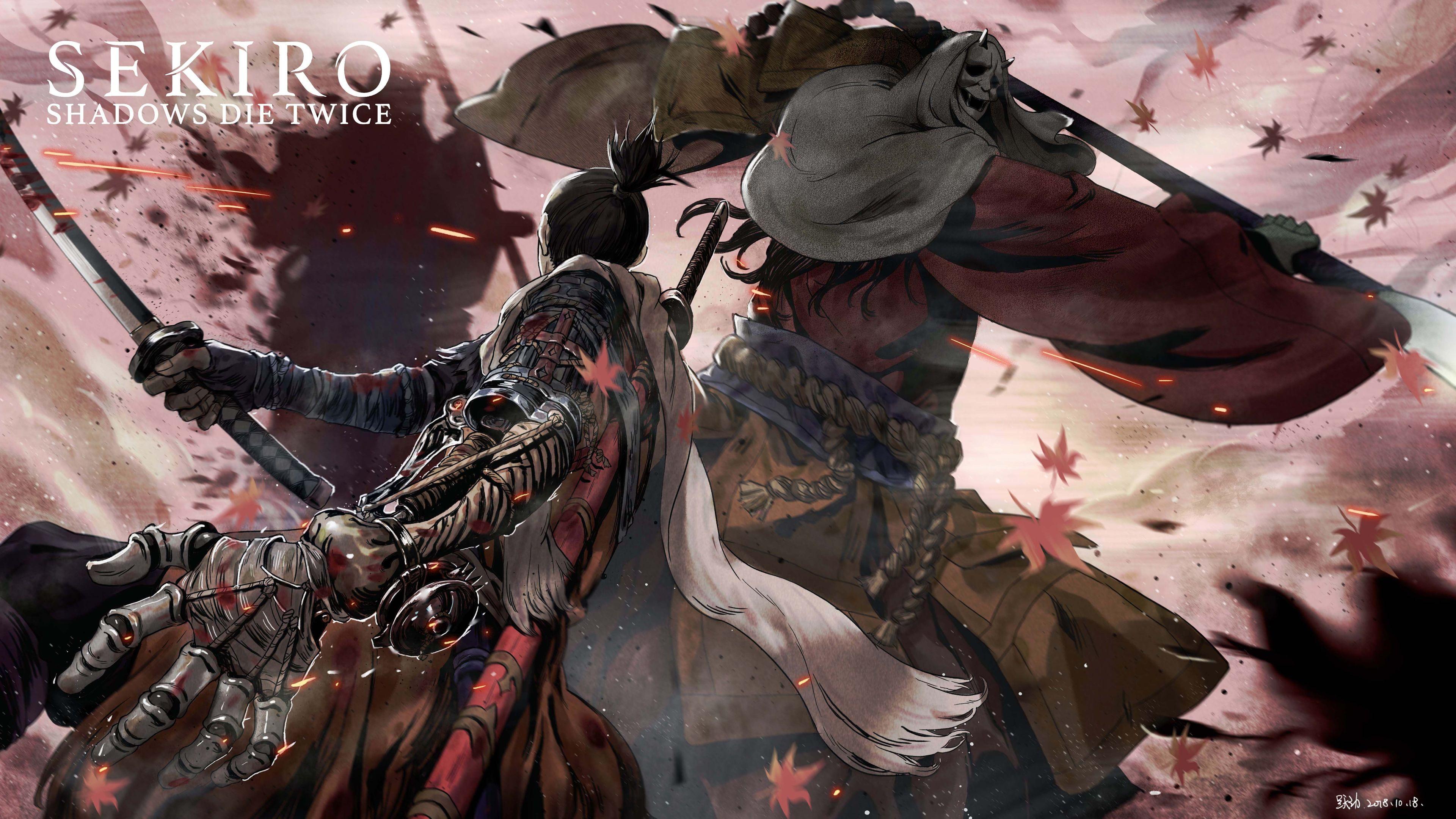 Wallpaper 4k Sekiro Shadows Die Twice 5k 2019 Games Wallpapers 4k