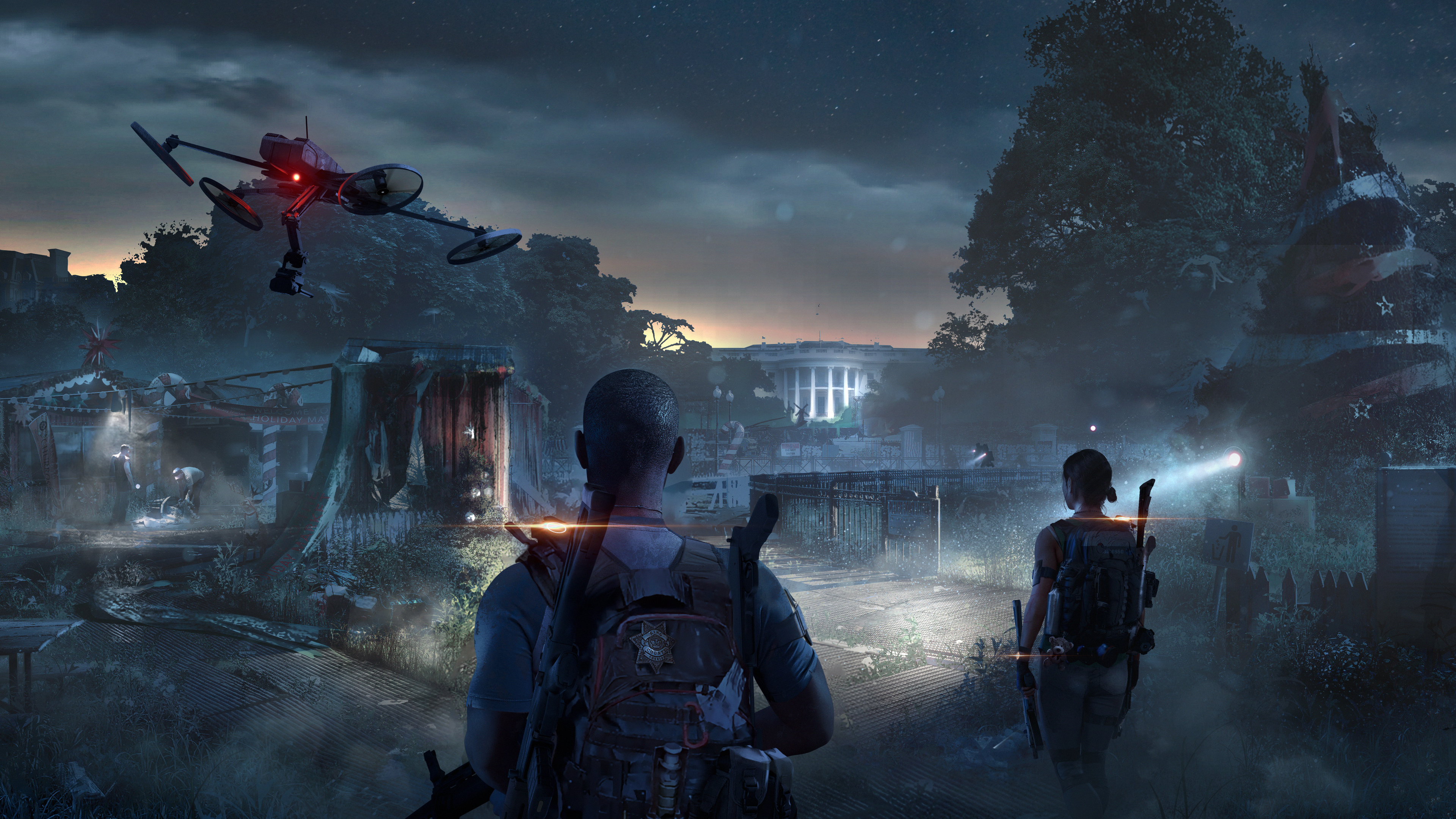 Wallpaper 4k Tom Clancys The Division 2 Game 4k 2019 Games