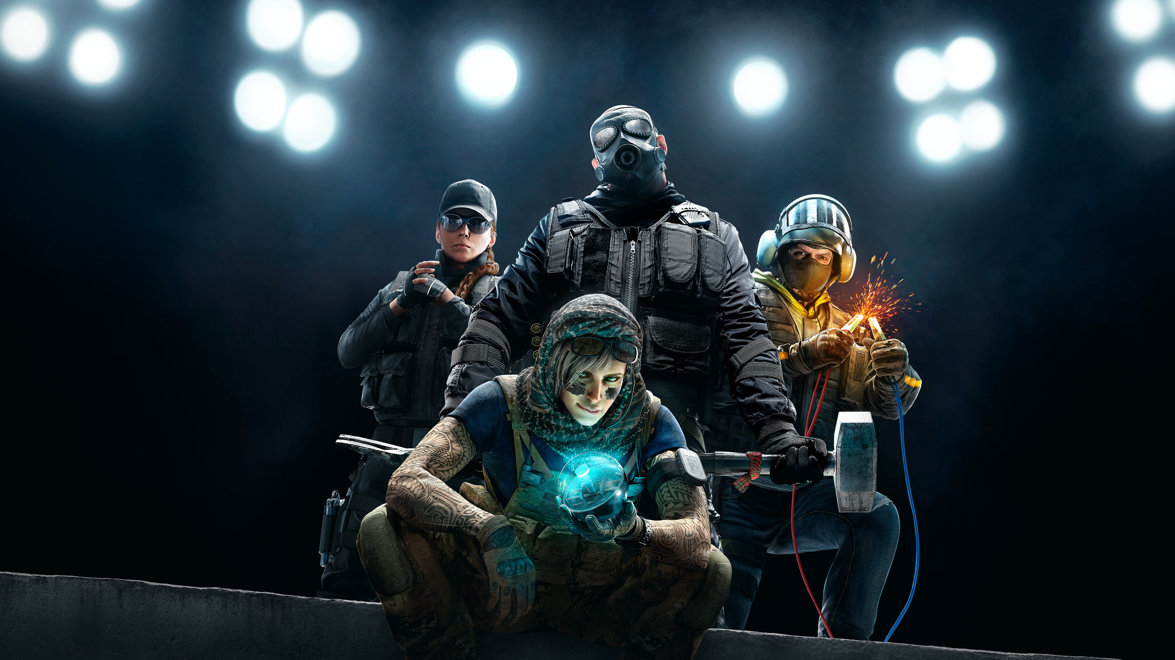 Wallpaper 4k Tom Clanycs Rainbow Six Siege 4k 2019 2019