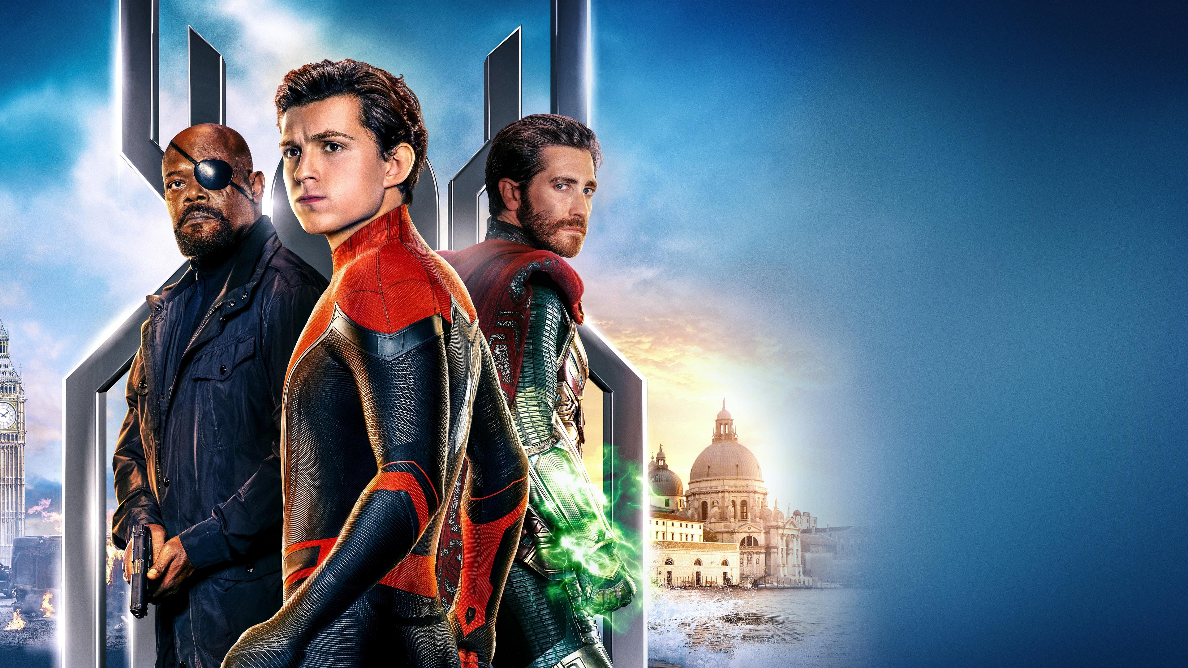 Wallpaper 4k 2019 Spiderman Far From Home Movie 4k 2019