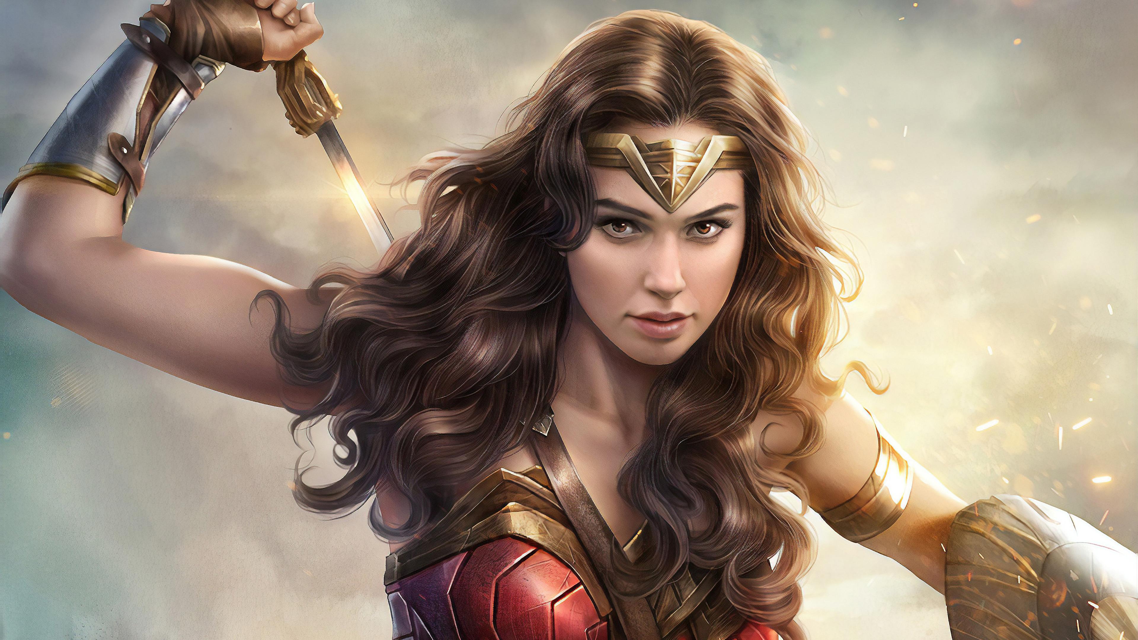 Wallpaper 4k 4k Gal Gadot Wonder Woman 4k Wallpapers Artist