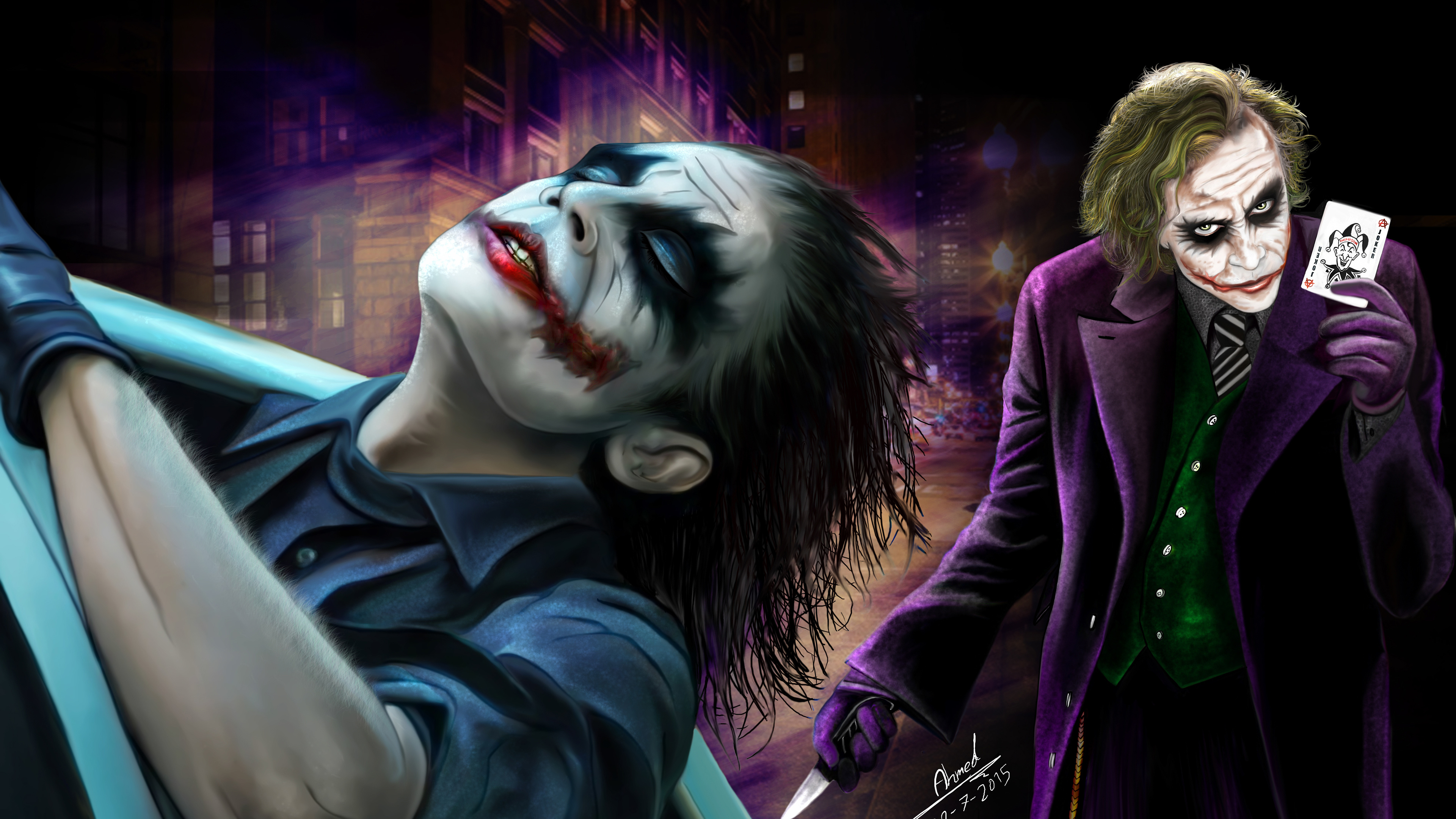 Wallpaper 4k 4k Joker 2019 4k Wallpapers Artwork Wallpapers
