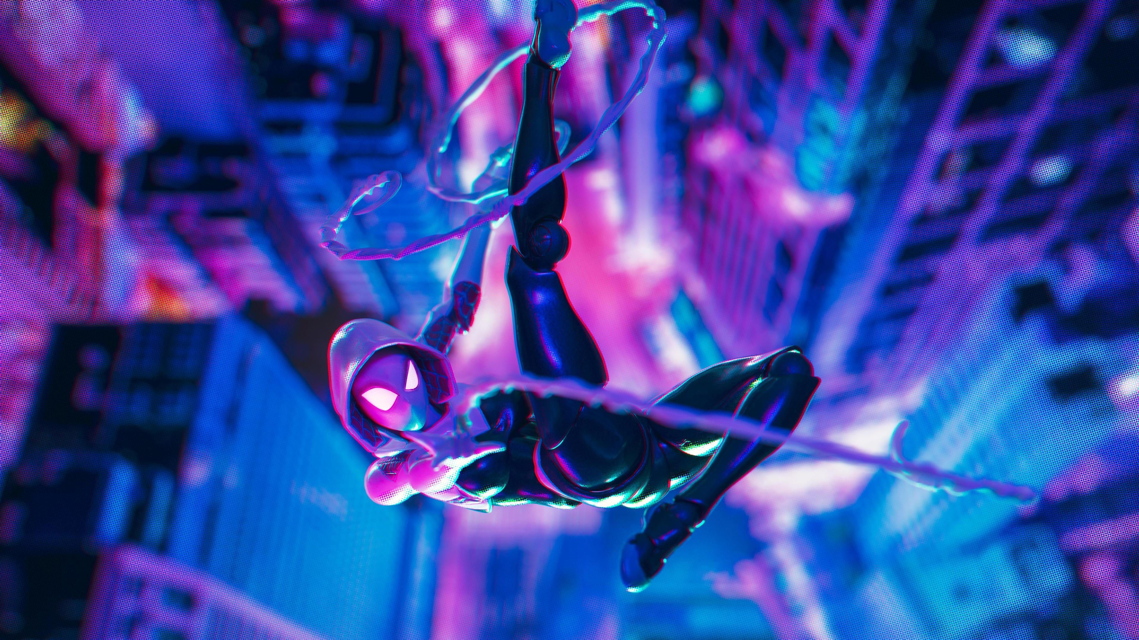 4k spider gwen 1559764203 - 4k Spider Gwen - superheroes wallpapers, hd-wallpapers, gwen wallpapers, gwen stacy wallpapers, digital art wallpapers, artwork wallpapers, artist wallpapers, 4k-wallpapers