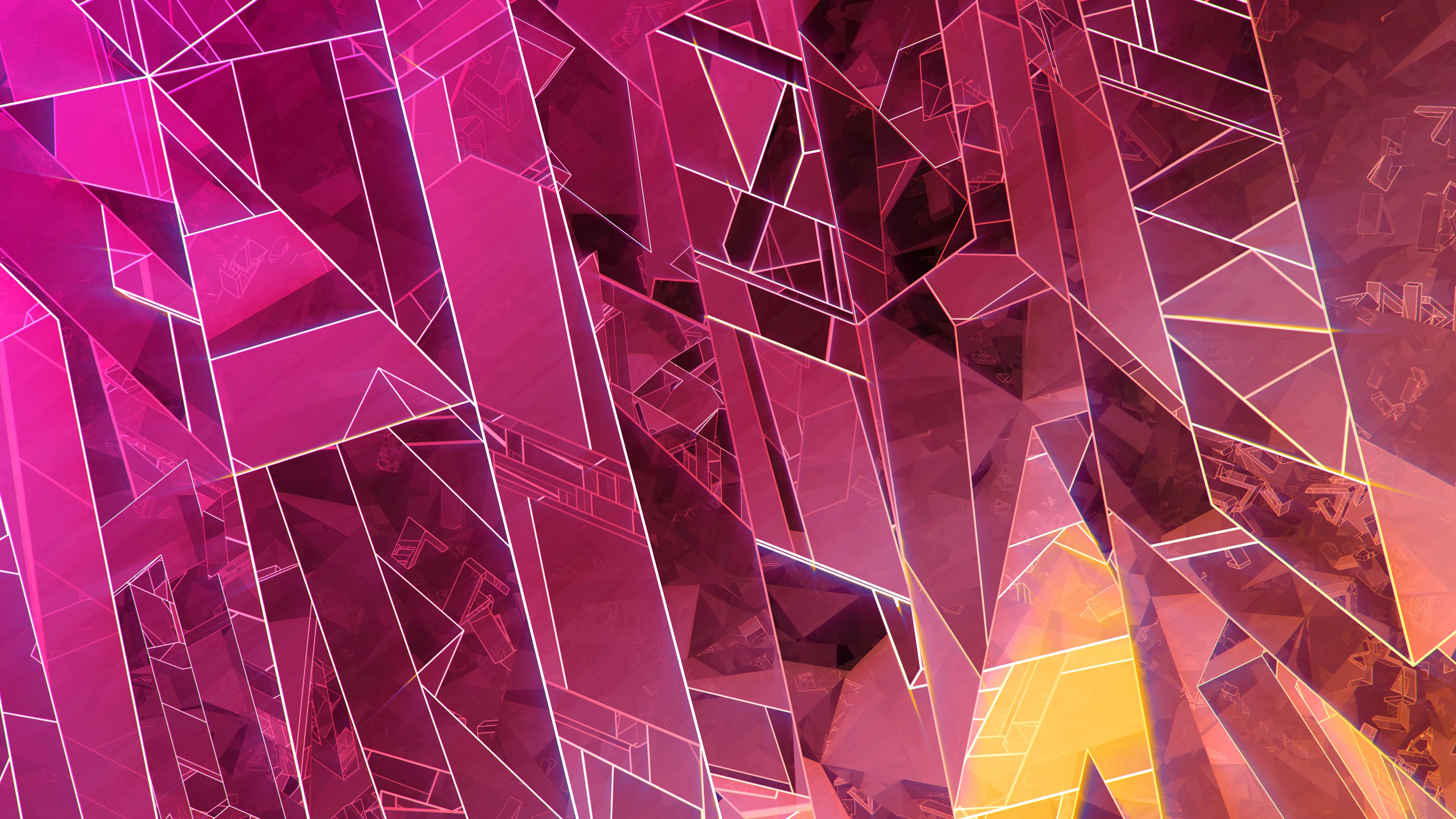 abstract crystal 4k 1560535964 - Abstract Crystal 4k - hd-wallpapers, digital art wallpapers, abstract wallpapers, 4k-wallpapers