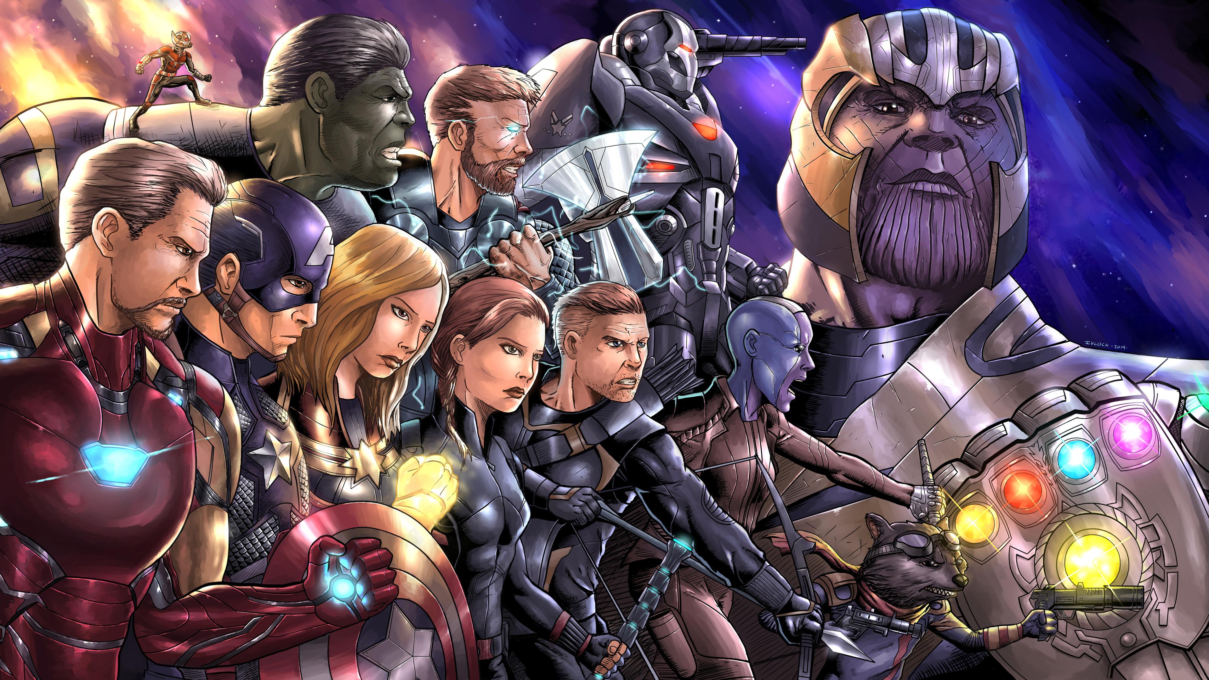 avengers endgame new artwork 4k 1559764359 - Avengers Endgame New Artwork 4k - thor wallpapers, superheroes wallpapers, hd-wallpapers, deviantart wallpapers, avengers endgame wallpapers, artwork wallpapers, 4k-wallpapers