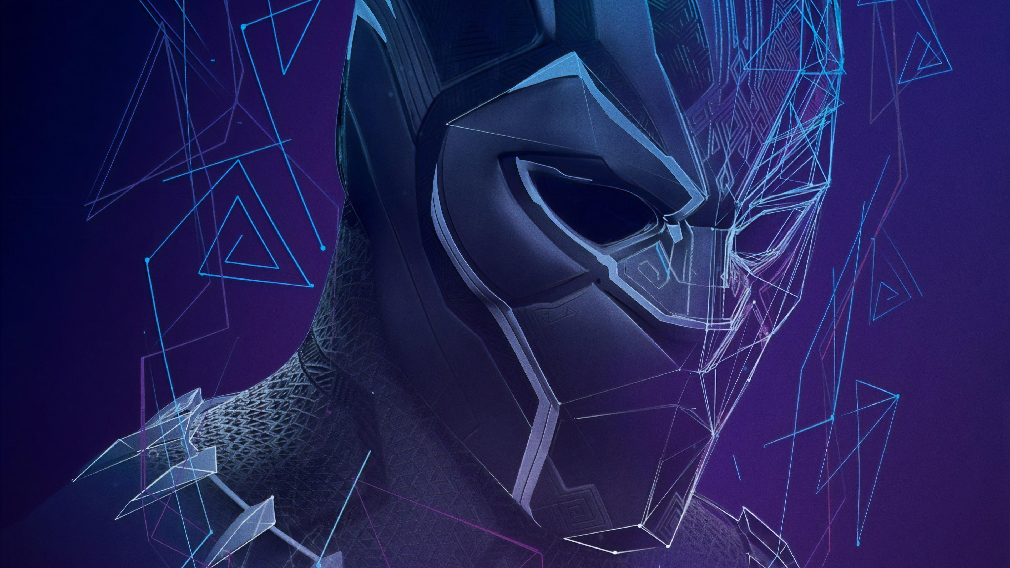 black panther fractal art 4k 1559764143 - Black Panther Fractal Art 4k - superheroes wallpapers, hd-wallpapers, digital art wallpapers, black panther wallpapers, artwork wallpapers, artist wallpapers, 4k-wallpapers