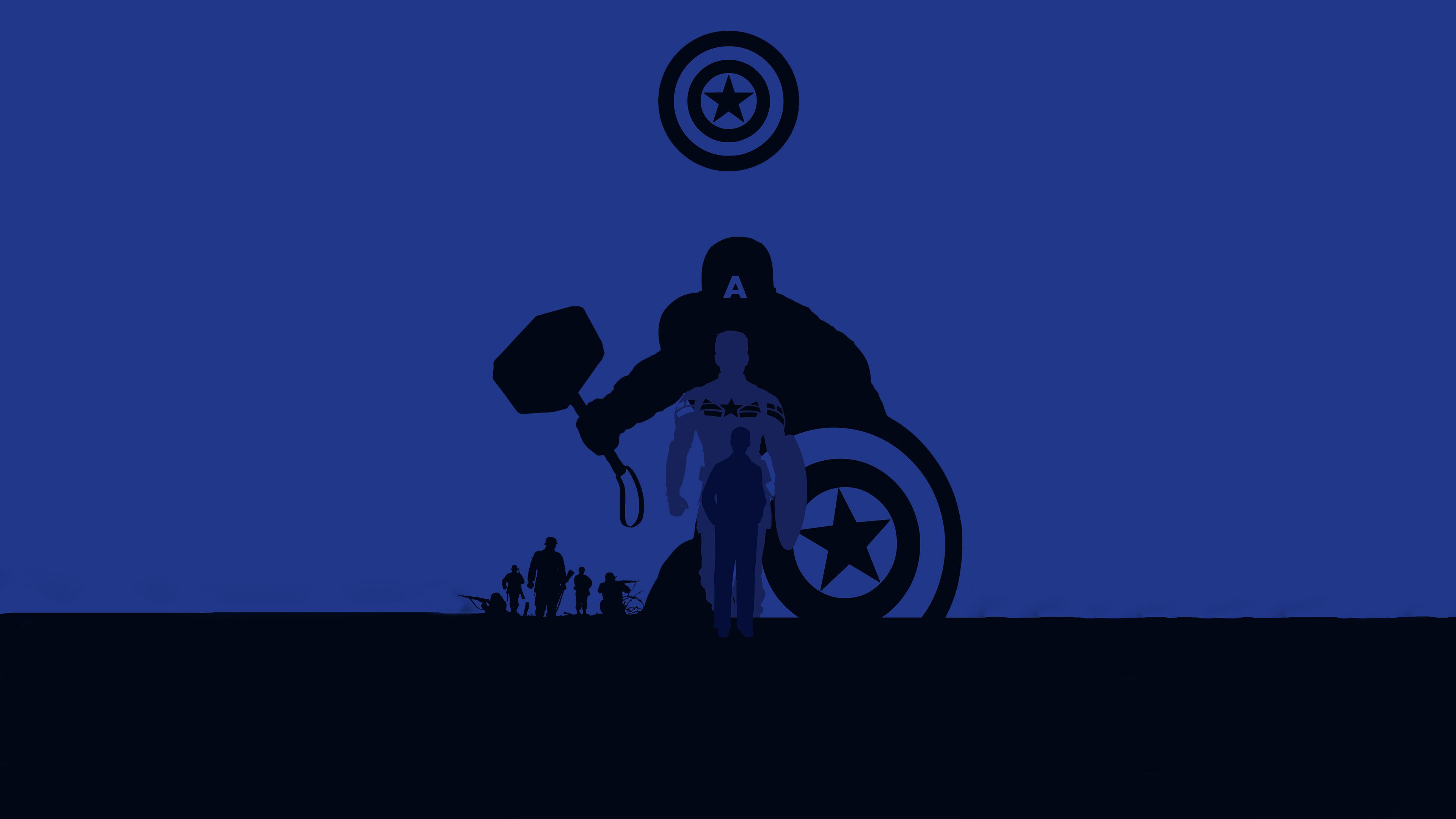 captain america avengers endgame 4k minimalism 1560533658 - Captain America Avengers Endgame 4k Minimalism - superheroes wallpapers, hd-wallpapers, captain america wallpapers, behance wallpapers, avengers endgame wallpapers, artwork wallpapers, 4k-wallpapers