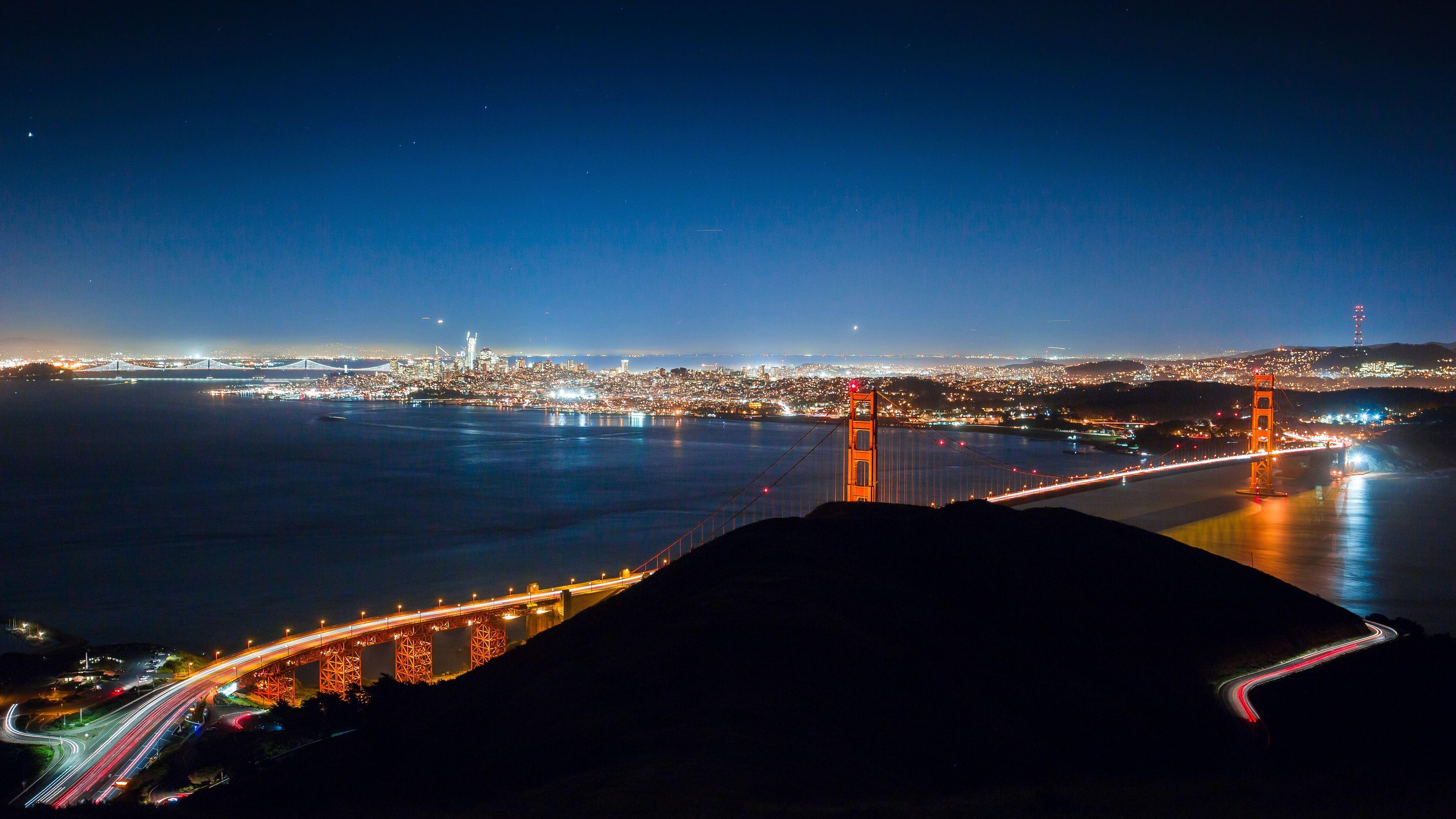 city lights san francisco 4k 1560535801 - City Lights San Francisco 4k - world wallpapers, san francisco wallpapers, photography wallpapers, lights wallpapers, hd-wallpapers, city wallpapers, 4k-wallpapers