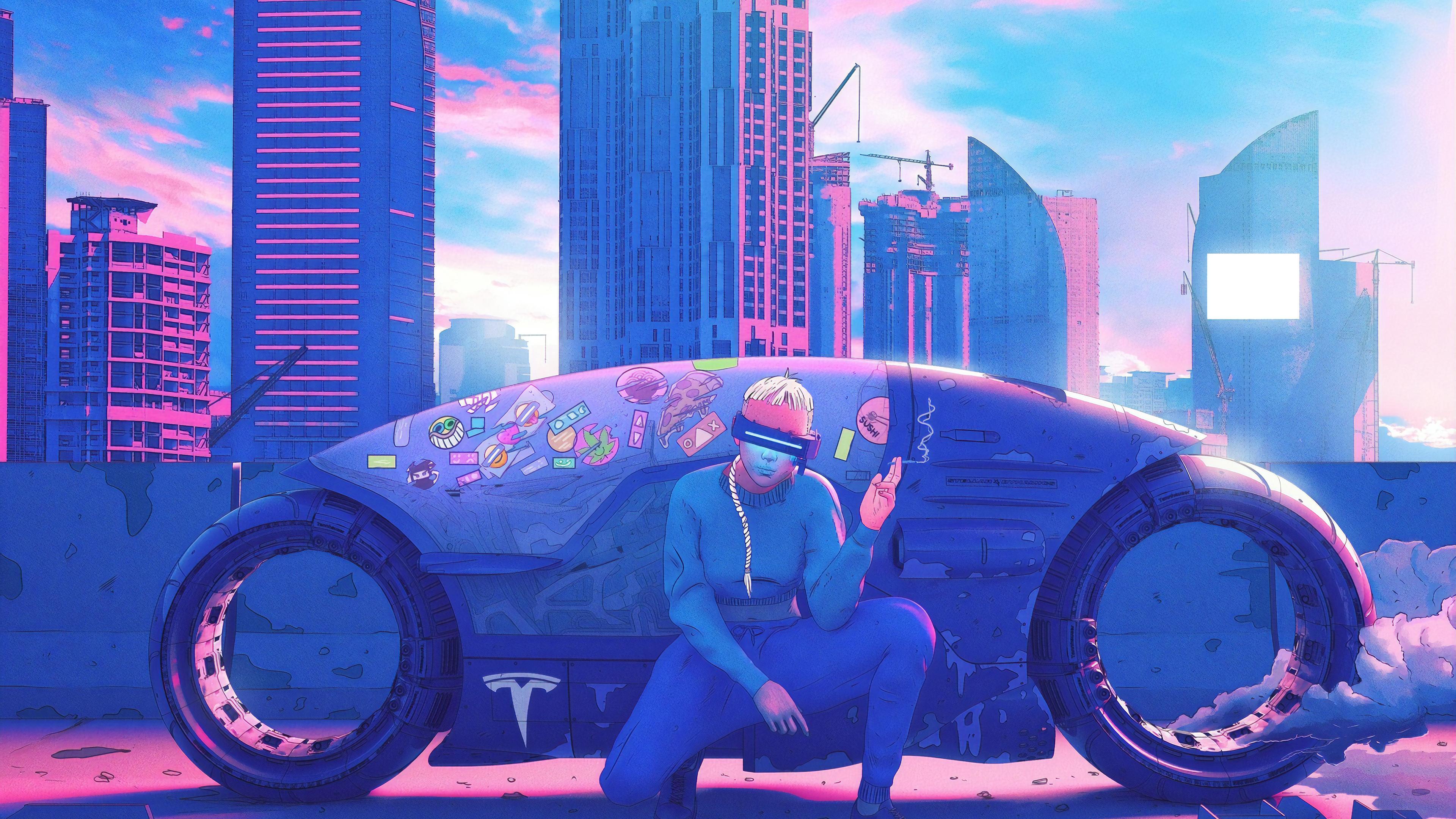 cyberpunk biker rider 4k 1560535263 - Cyberpunk Biker Rider 4k - smoking wallpapers, hd-wallpapers, digital art wallpapers, cyberpunk wallpapers, biker wallpapers, artwork wallpapers, artist wallpapers, 4k-wallpapers