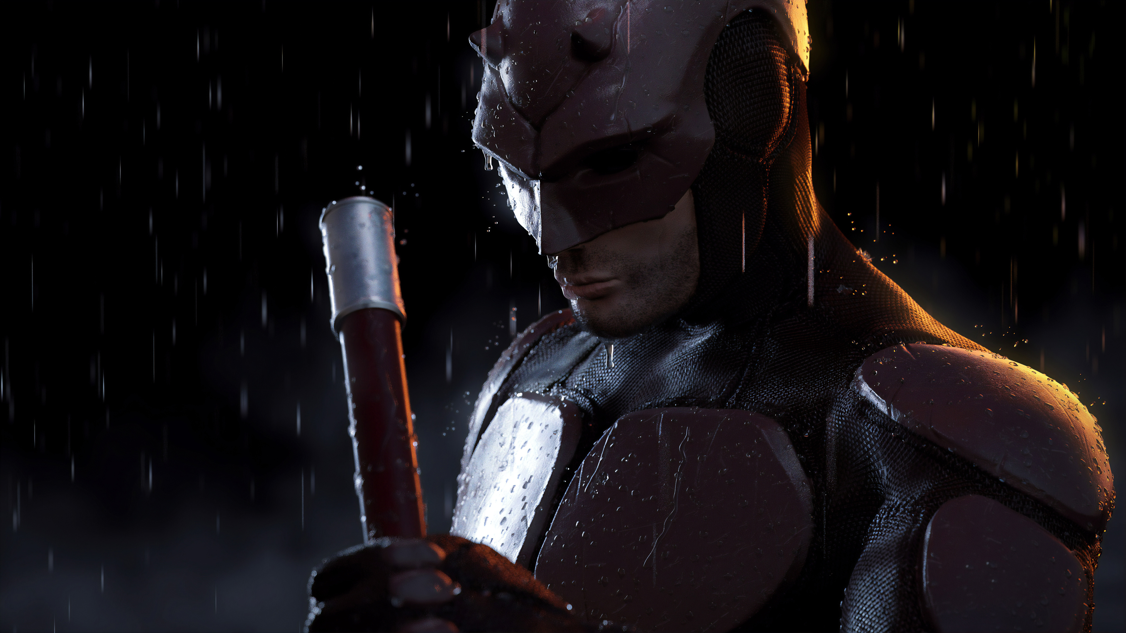 daredevil 4k new 1559764149 - Daredevil 4k New - superheroes wallpapers, hd-wallpapers, daredevil wallpapers, behance wallpapers, artwork wallpapers, 4k-wallpapers