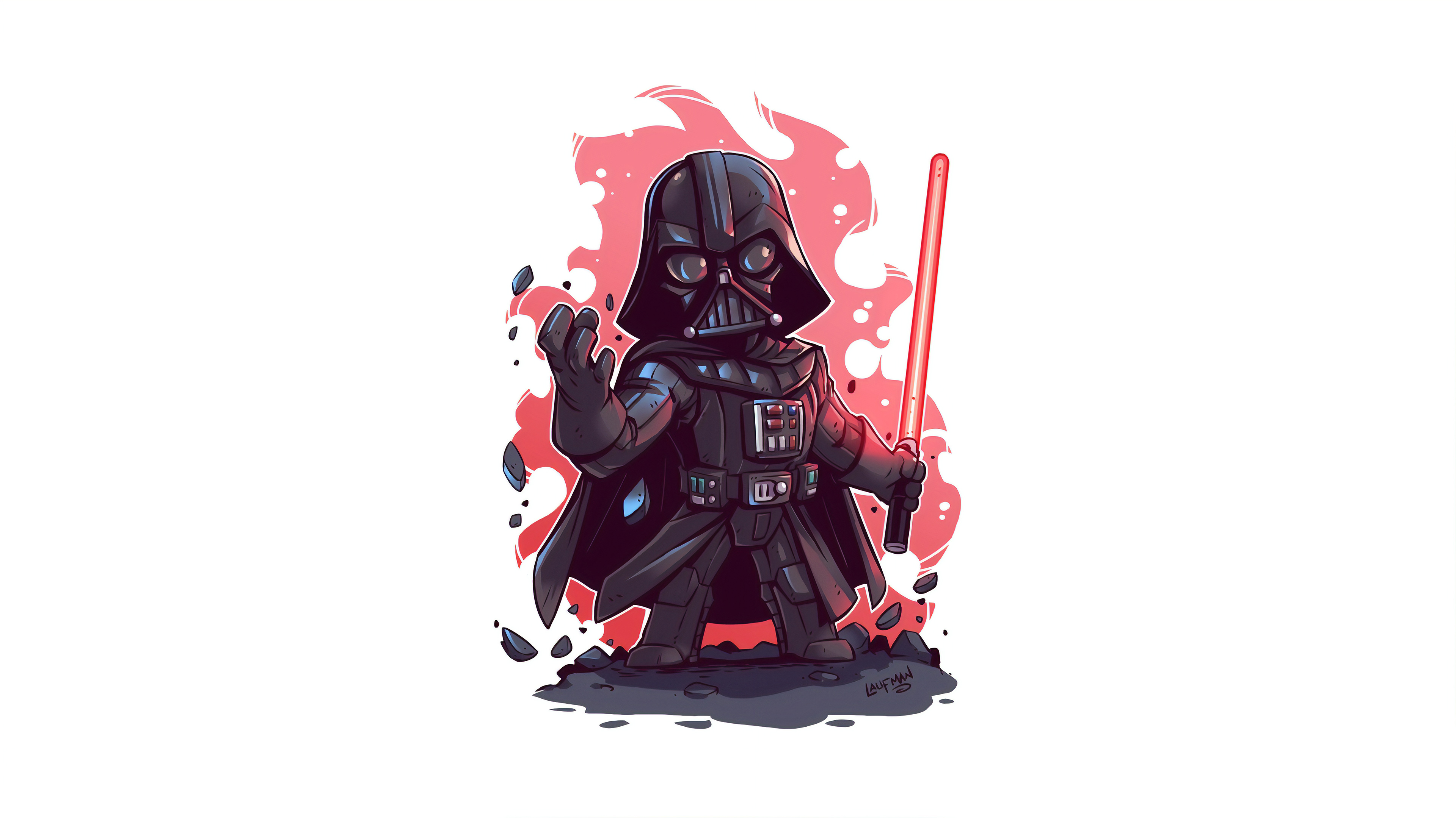 Wallpaper 4k Darth Vader Minimal Art 4k 4k Wallpapers