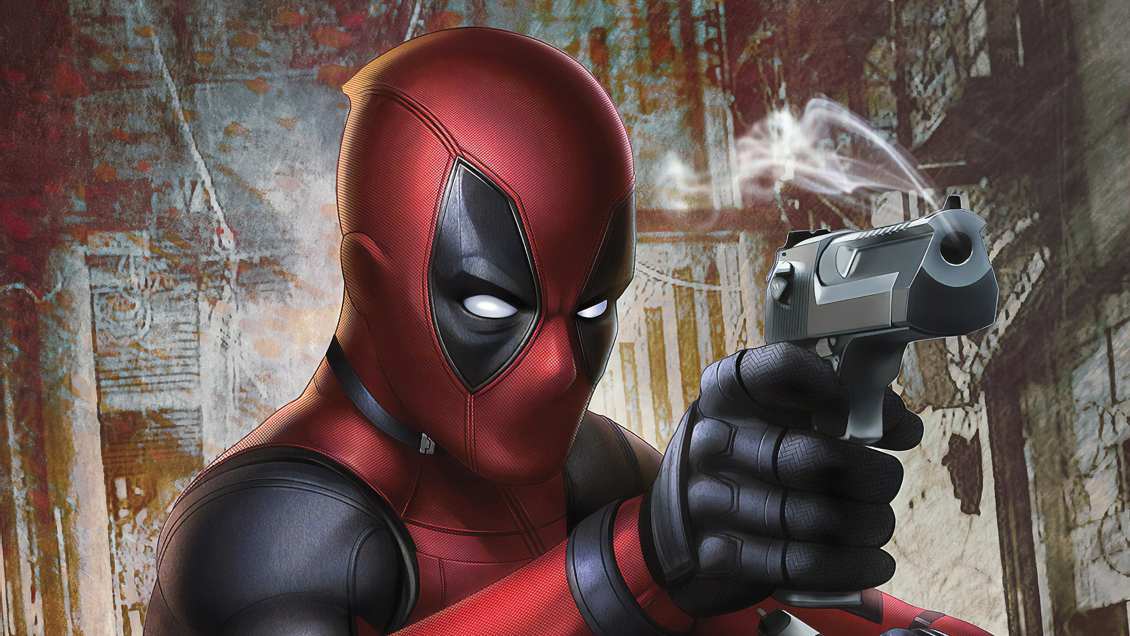 Wallpaper 4k Deadpool Gun 4k 4k Wallpapers Artwork