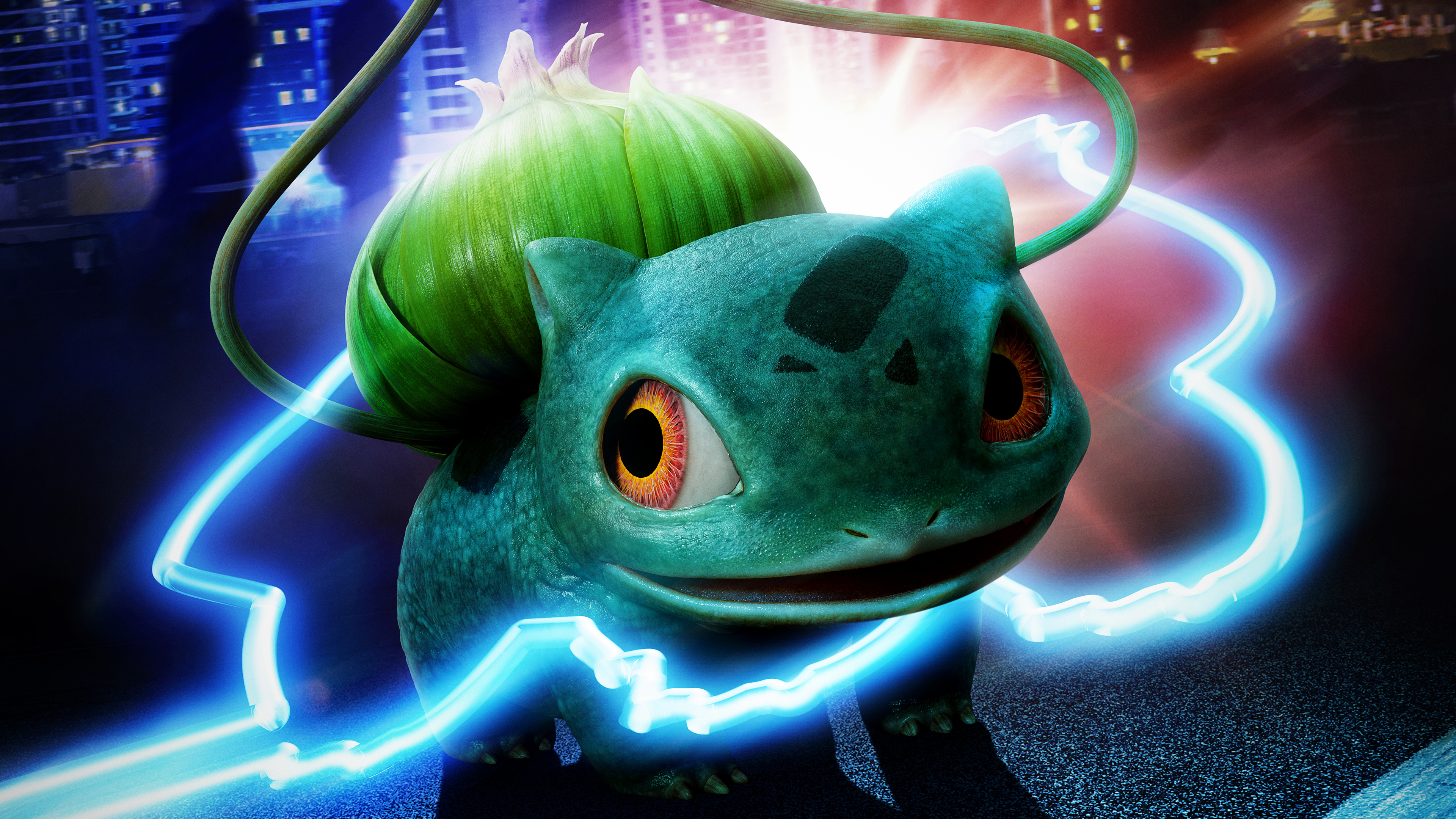 detective pikachu bulbasaur 4k 1560535182 - Detective Pikachu Bulbasaur 4k - pokemon detective pikachu wallpapers, movies wallpapers, hd-wallpapers, detective pikachu movie wallpapers, 4k-wallpapers, 2019 movies wallpapers