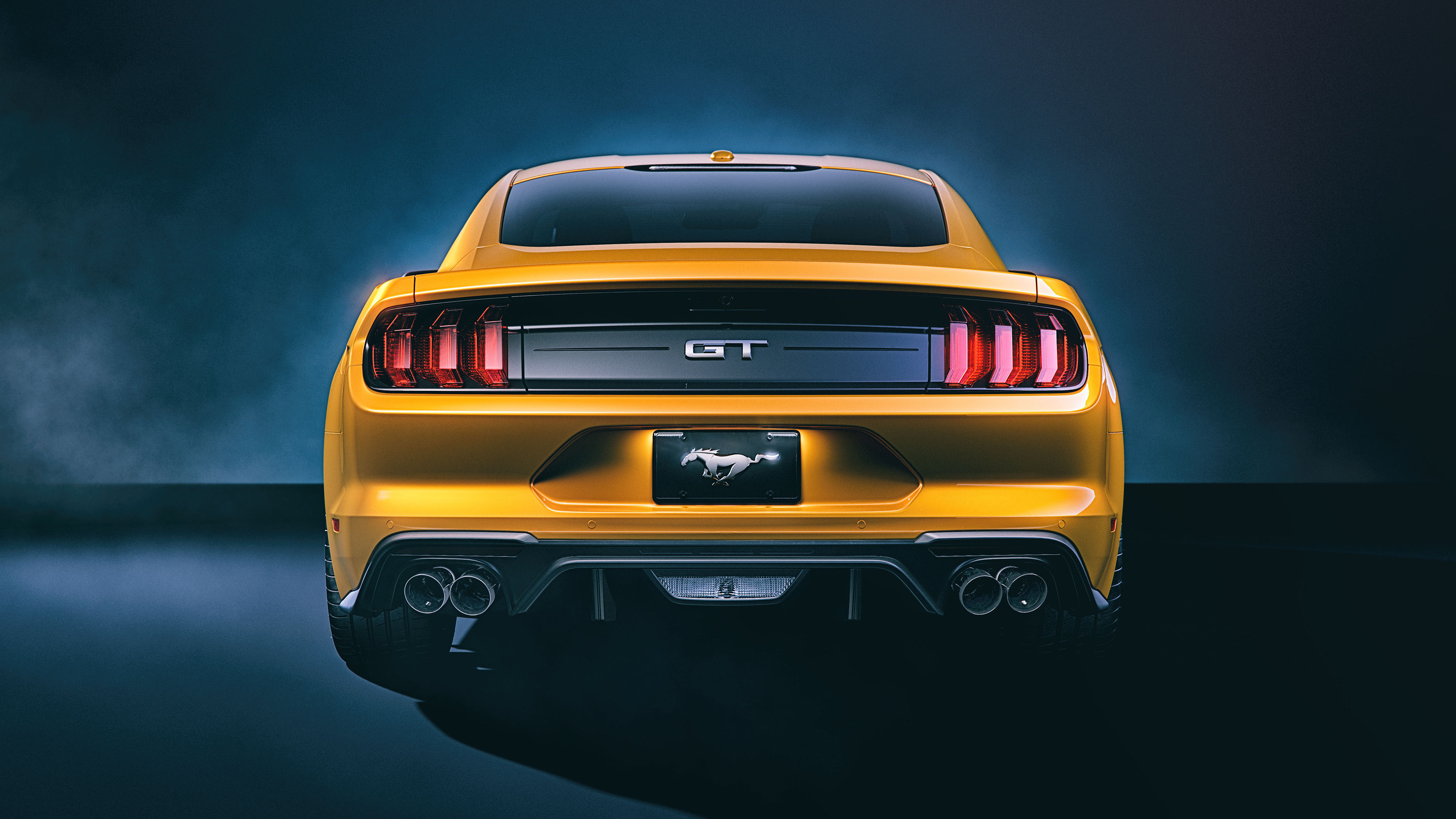 ford mustang gt rear 4k 1559764510 - Ford Mustang GT Rear 4k - mustang wallpapers, hd-wallpapers, ford wallpapers, ford mustang wallpapers, behance wallpapers, 4k-wallpapers, 2018 cars wallpapers