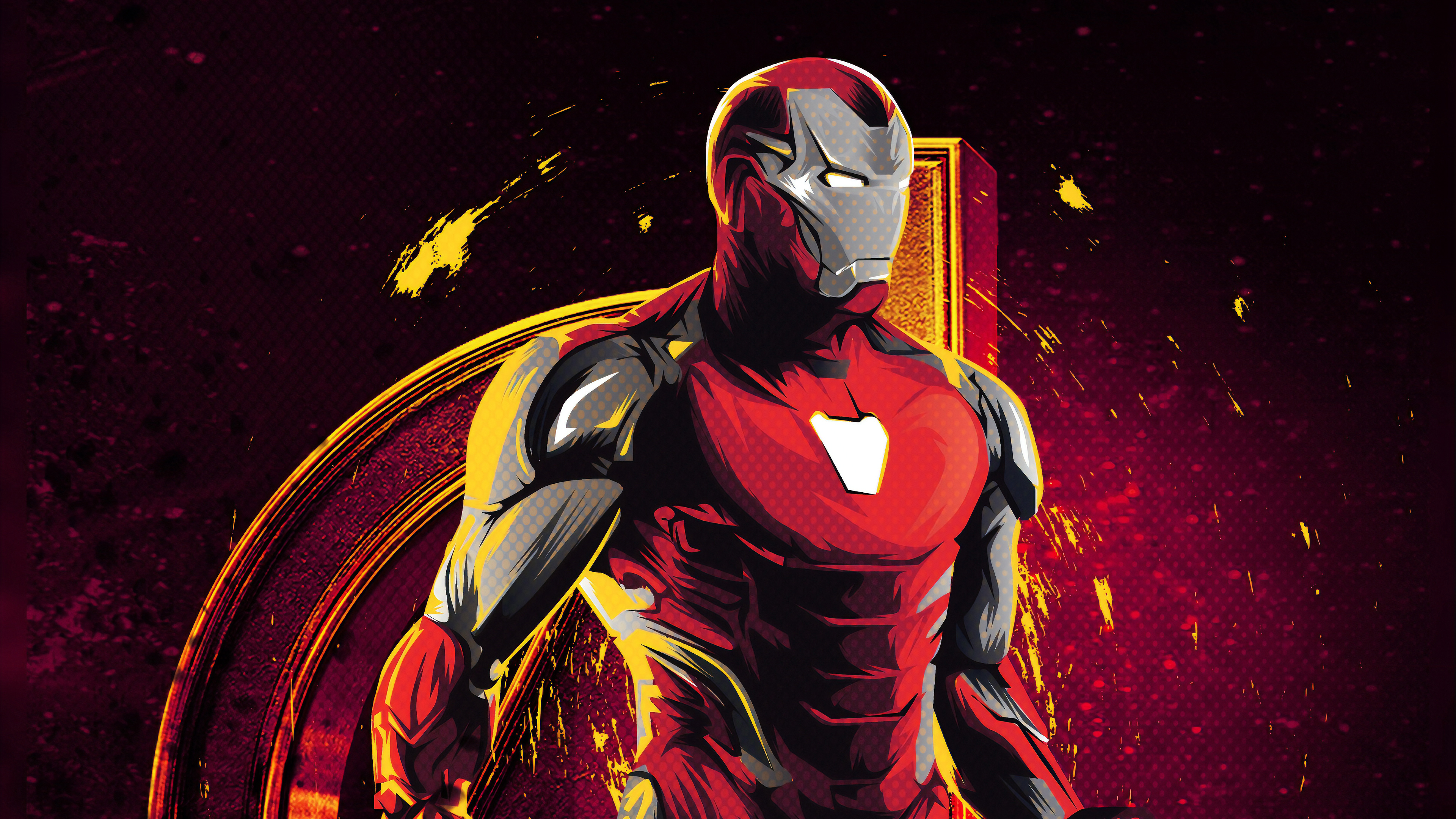Wallpaper 4k Iron Man Avenger 4k Wallpapers Artwork
