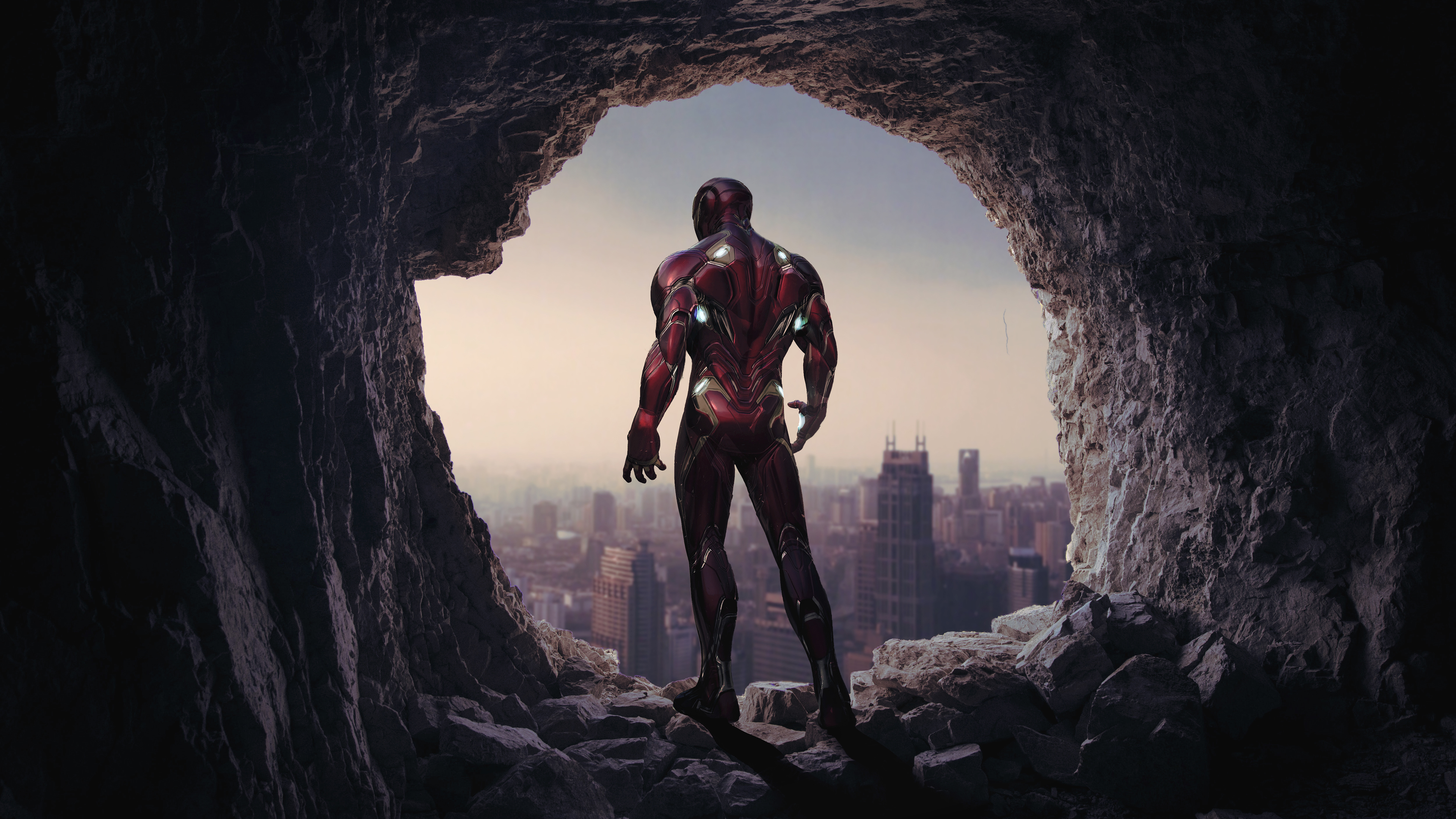 Iron Man Avengers Endgame 4k 2019 Wallpaper
