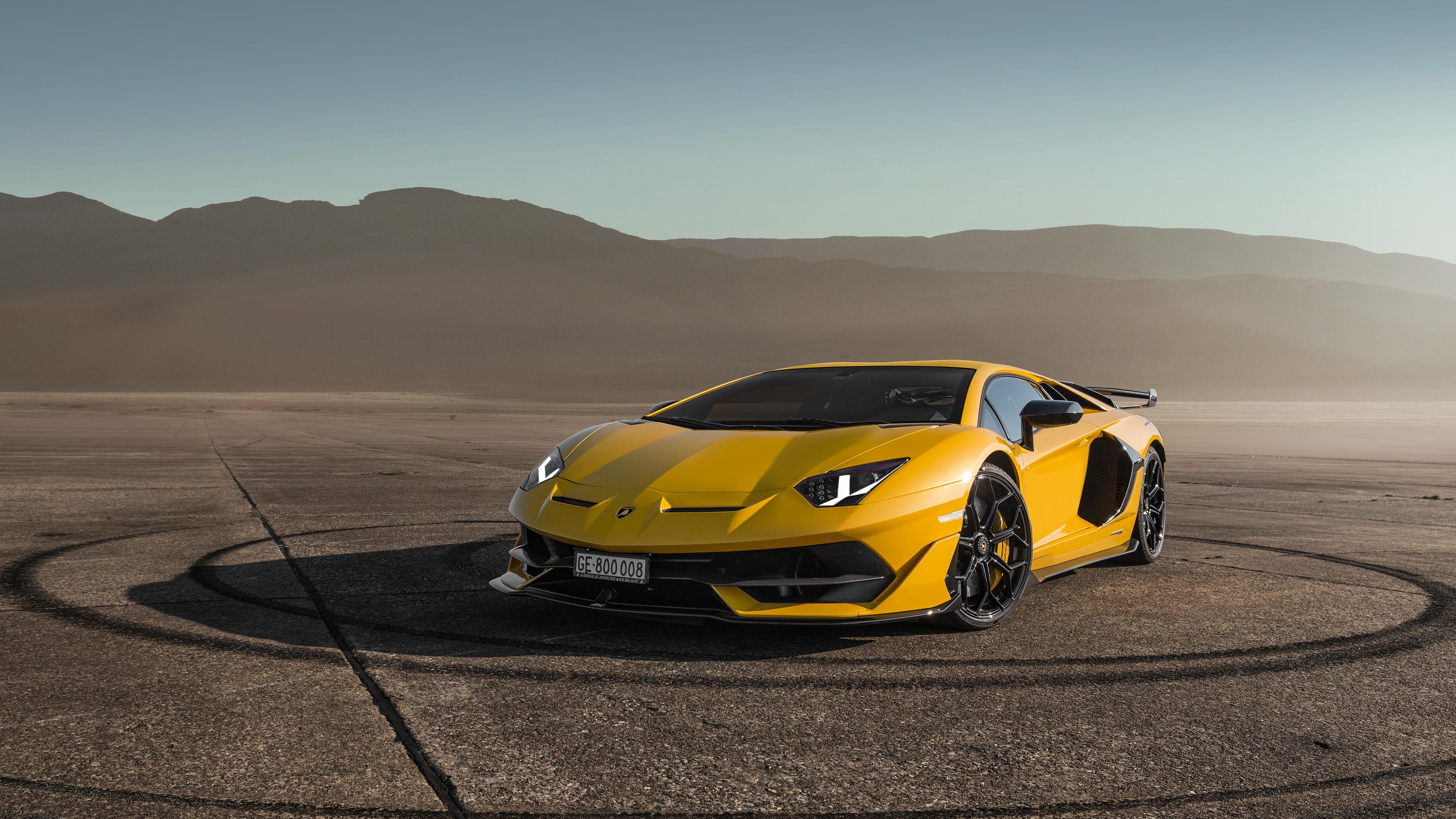 Wallpaper 4k Lamborghini Aventardor Svj 4k 2018 Cars