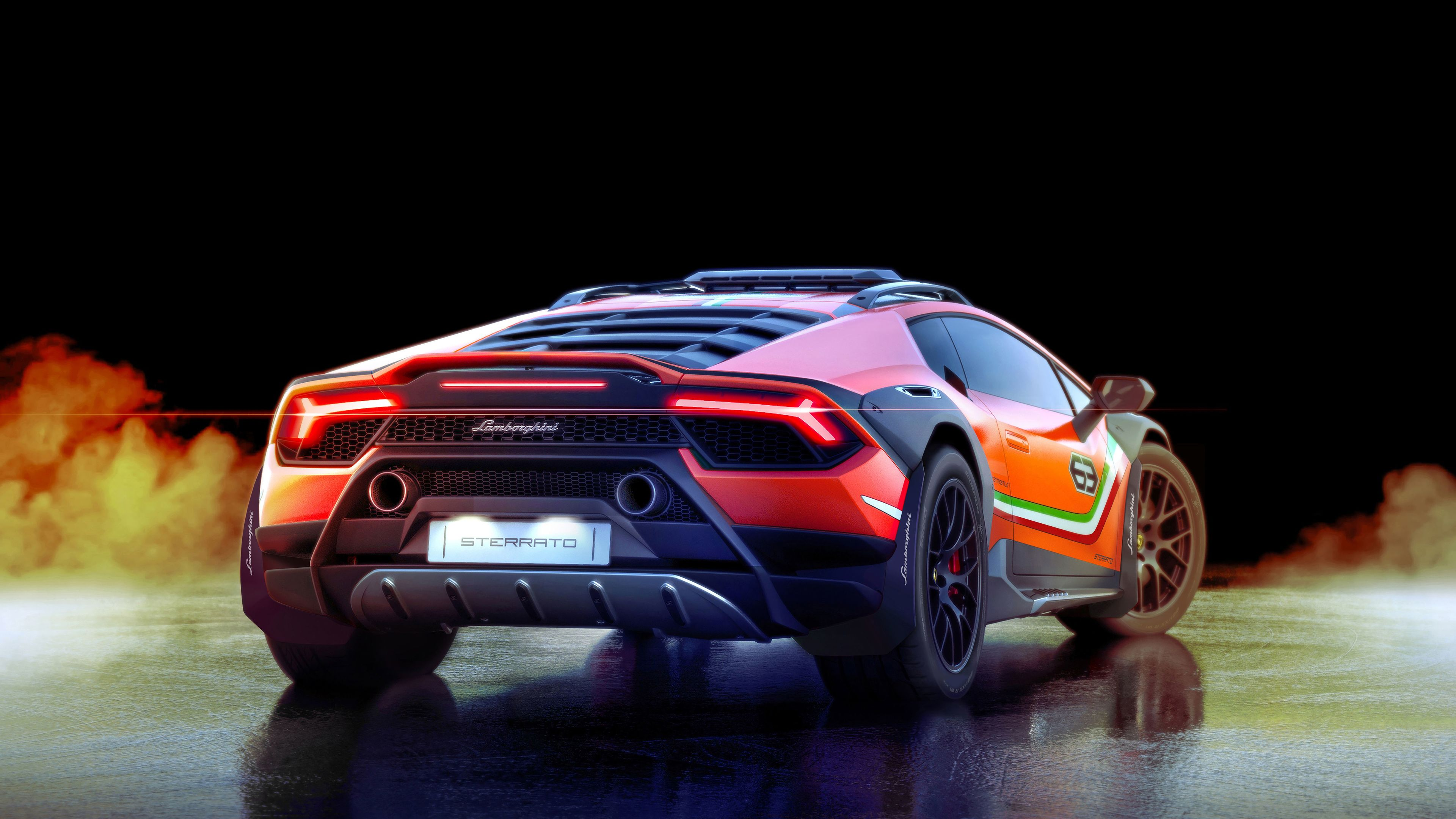lamborghini huracan sterrato concept 2019 rear 1560534371 - Lamborghini Huracan Sterrato Concept 2019 Rear - lamborghini wallpapers, lamborghini huracan wallpapers, lamborghini huracan sterrato wallpapers, hd-wallpapers, cars wallpapers, 4k-wallpapers, 2019 cars wallpapers