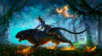 lion warrior girl in magical forest for hunt 4k 1560535391 200x110 - Lion Warrior Girl In Magical Forest For Hunt 4k - warrior wallpapers, hd-wallpapers, fantasy wallpapers, digital art wallpapers, creature wallpapers, artwork wallpapers, artist wallpapers, 4k-wallpapers