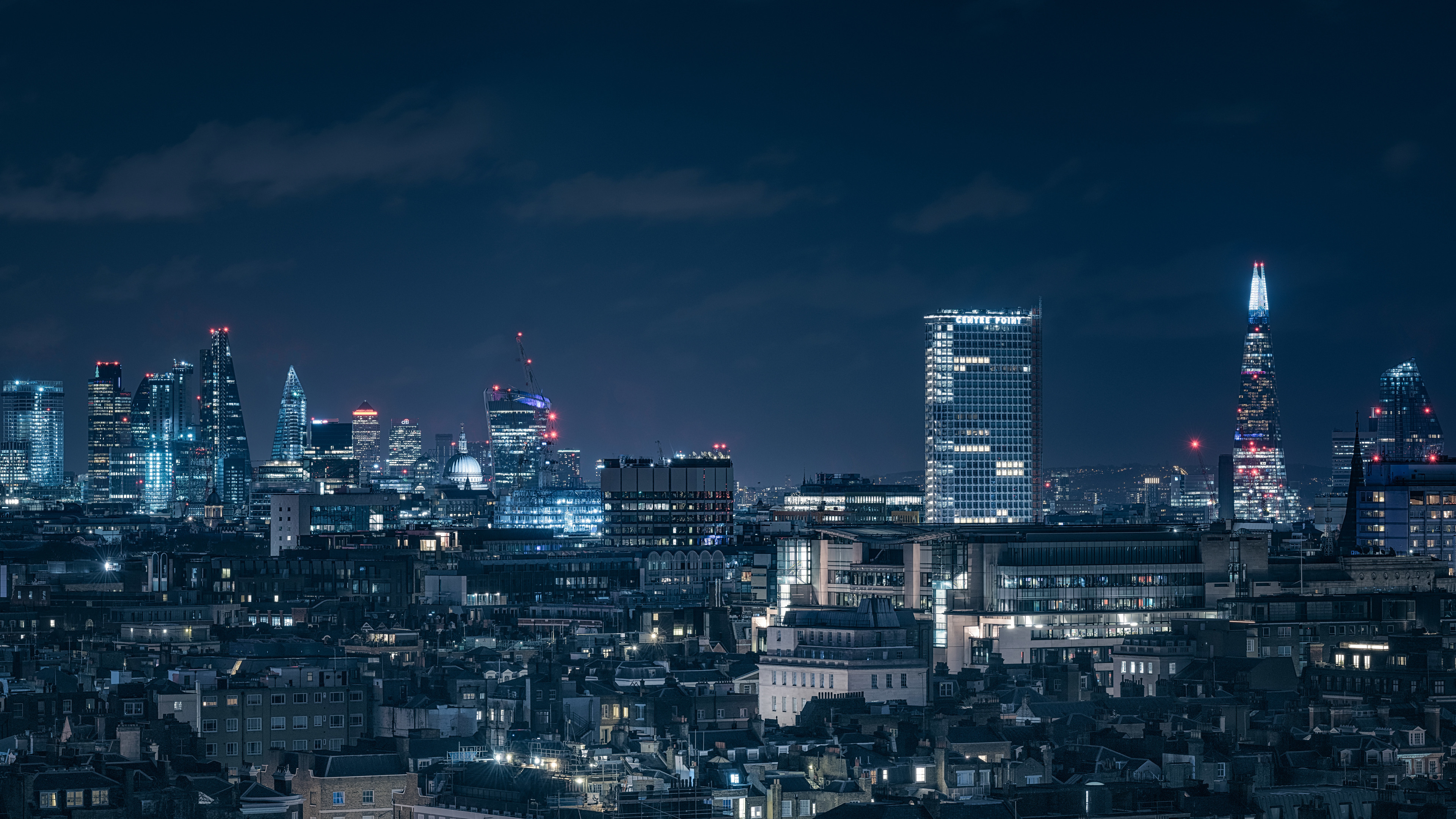 Wallpaper 4k London Chasing Skylines Nightscape 4k 4k Wallpapers