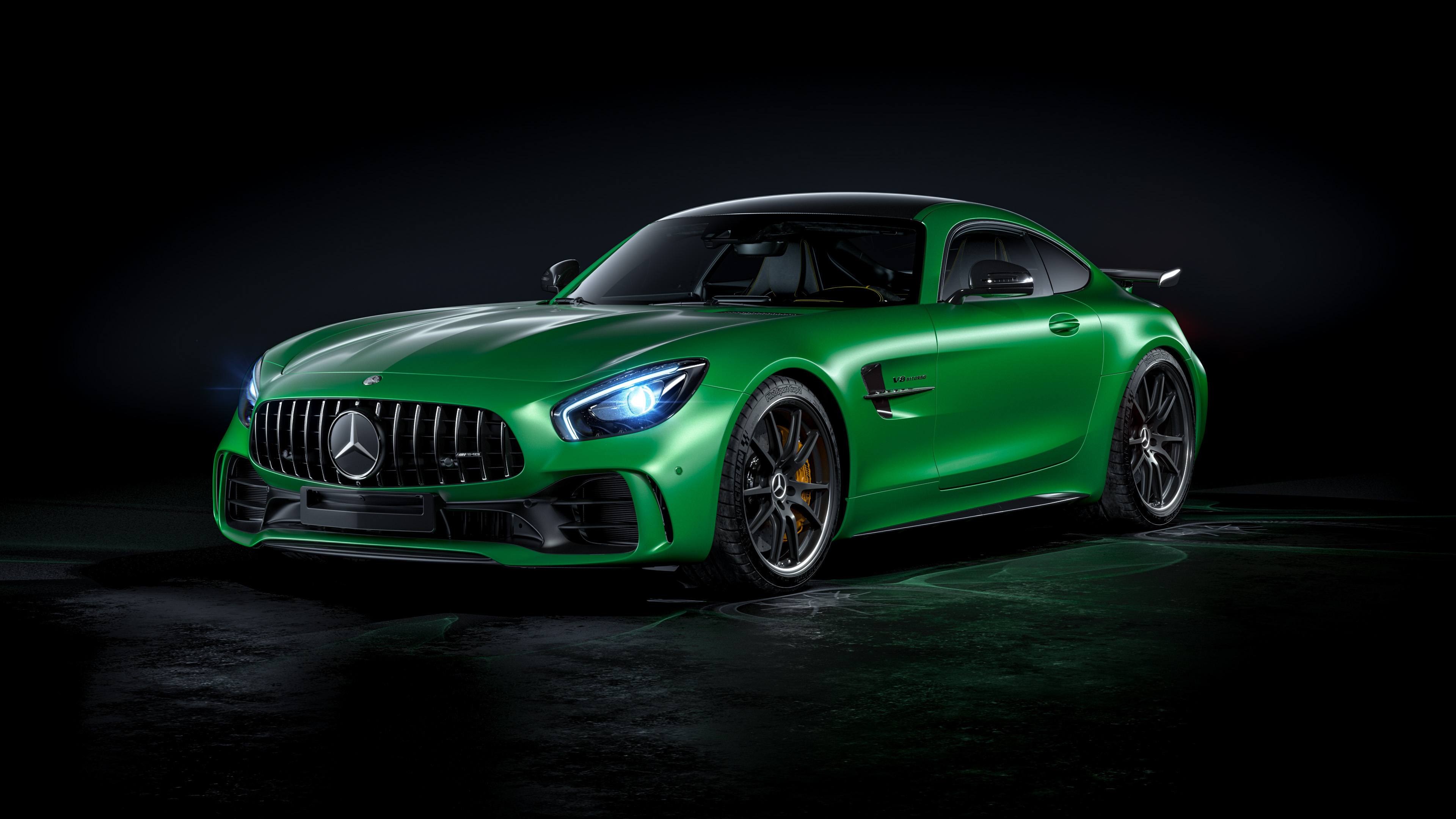 Wallpaper 4k Mercedes Benz Amg Gtr 4k 4k Wallpapers Behance
